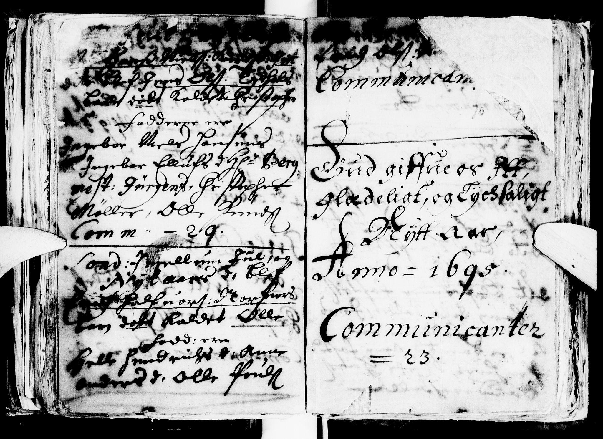 SAT, Ministerialprotokoller, klokkerbøker og fødselsregistre - Sør-Trøndelag, 681/L0923: Ministerialbok nr. 681A01, 1691-1700, s. 70