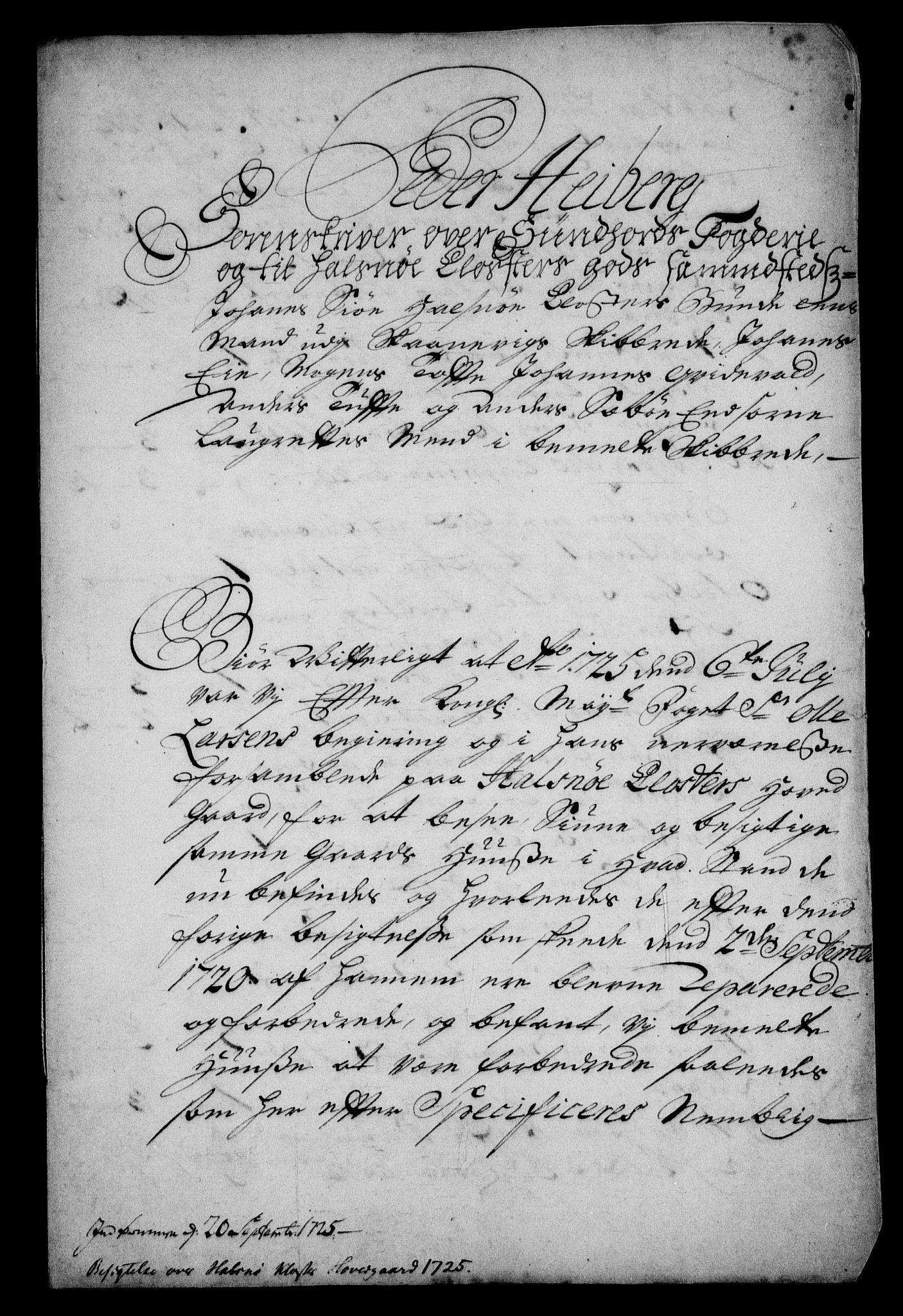 RA, Rentekammeret inntil 1814, Realistisk ordnet avdeling, On/L0003: [Jj 4]: Kommisjonsforretning over Vilhelm Hanssøns forpaktning av Halsnøy klosters gods, 1721-1729, s. 129