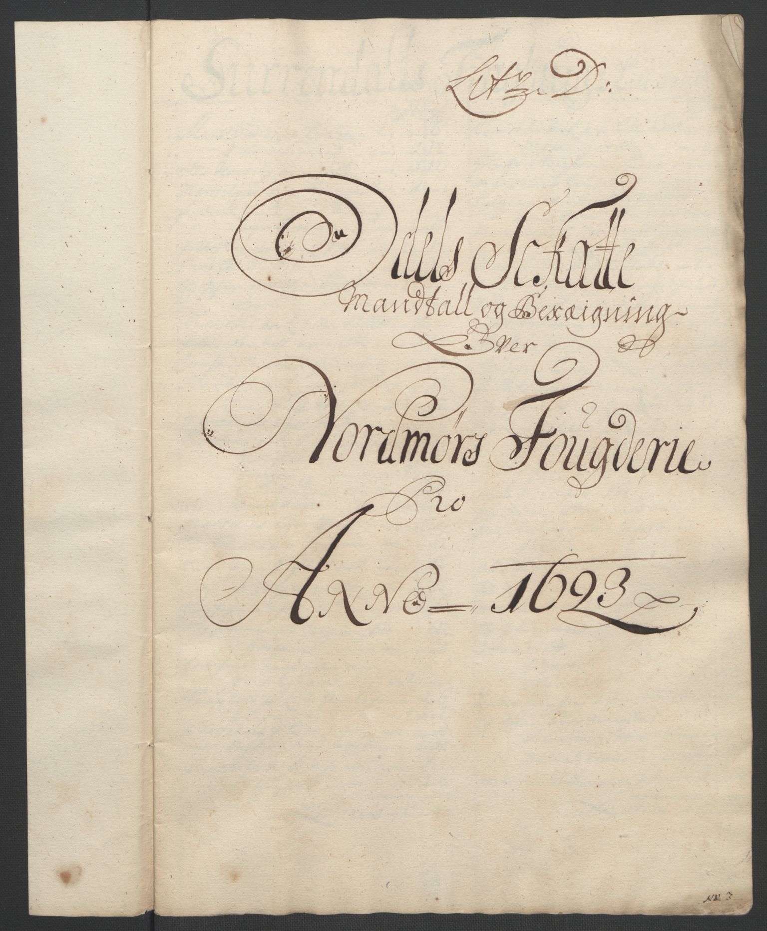 RA, Rentekammeret inntil 1814, Reviderte regnskaper, Fogderegnskap, R56/L3735: Fogderegnskap Nordmøre, 1692-1693, s. 343
