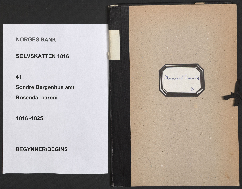 NOBA, Norges Bank/Sølvskatten 1816*, 1816-1825, s. 1