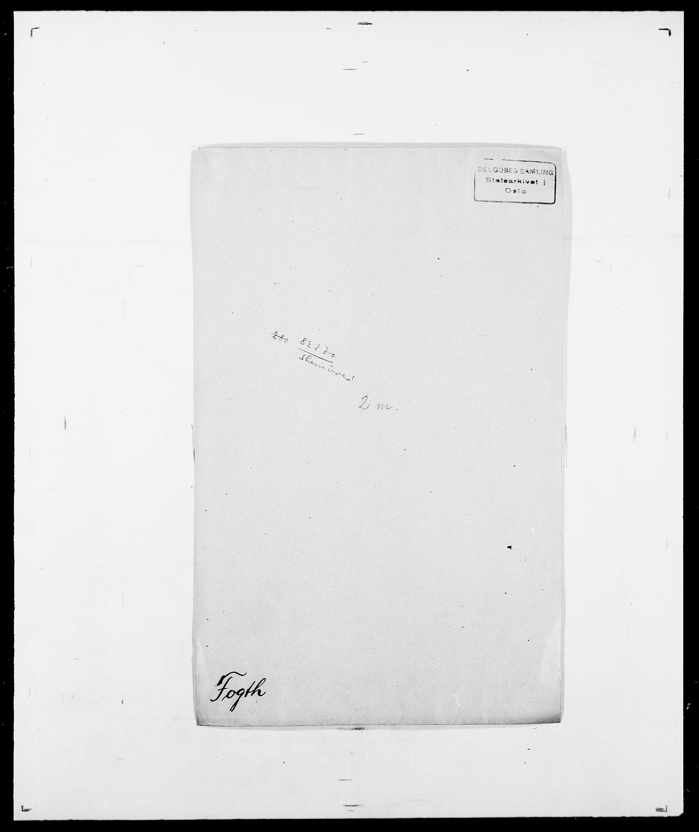 SAO, Delgobe, Charles Antoine - samling, D/Da/L0012: Flor, Floer, Flohr - Fritzner, s. 553