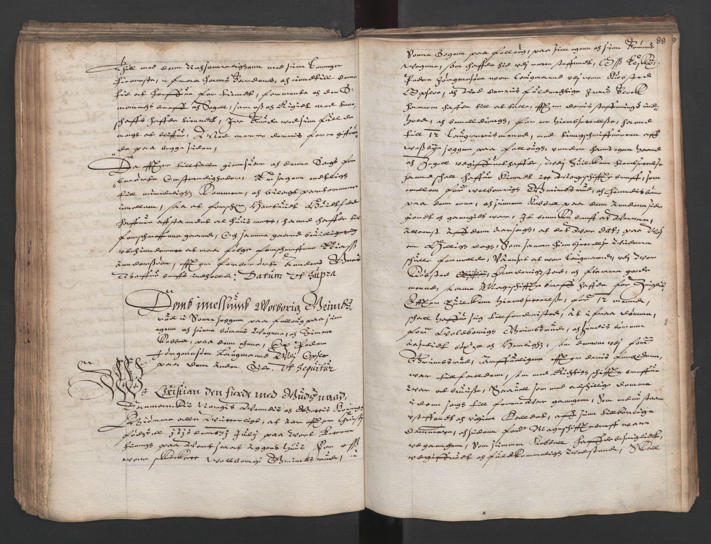 RA, Herredagen 1539-1664  (Kongens Retterting), A/L0011: Dombok, 1616, s. 87b-88a