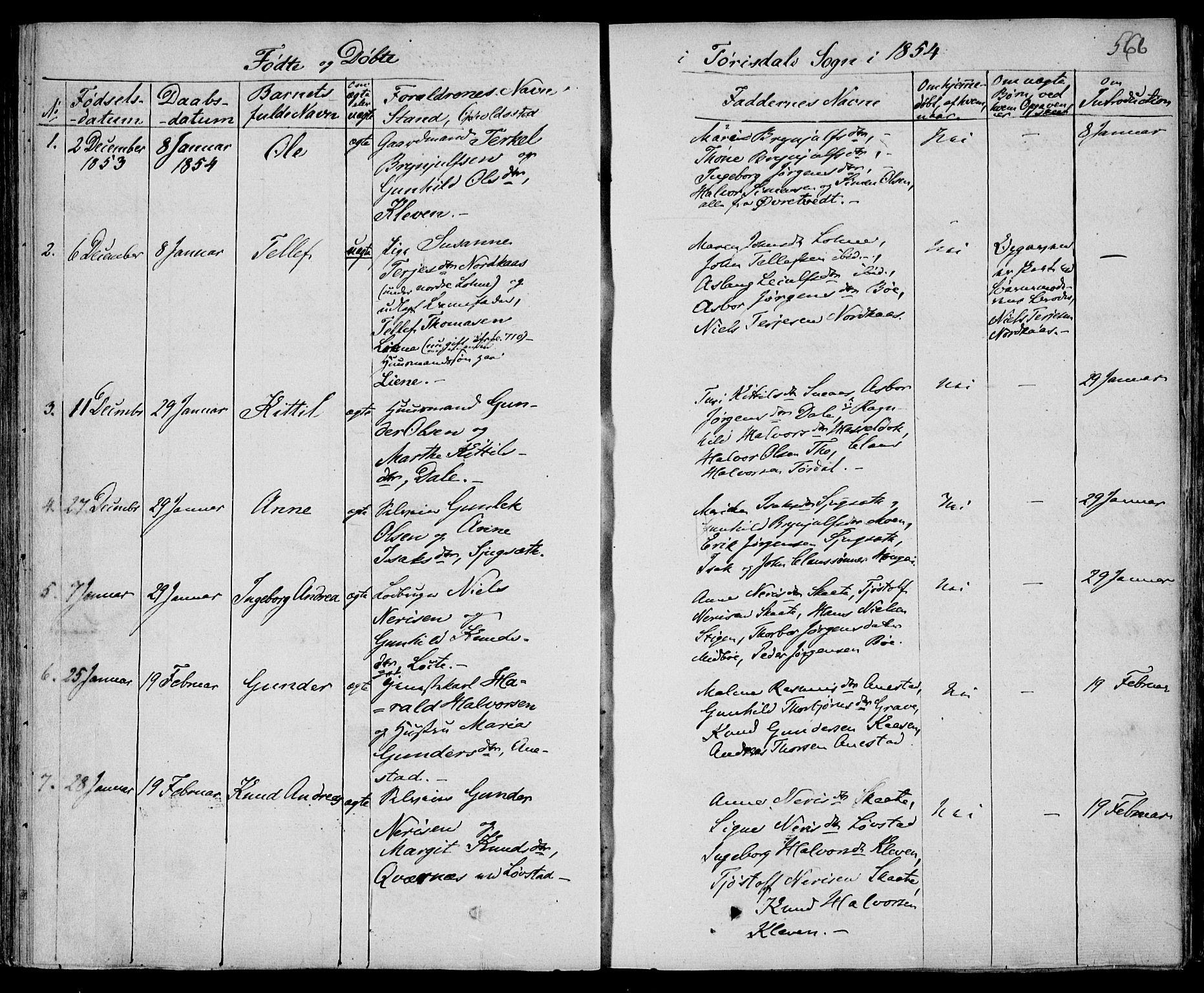 SAKO, Drangedal kirkebøker, F/Fa/L0007b: Ministerialbok nr. 7b, 1837-1856, s. 566
