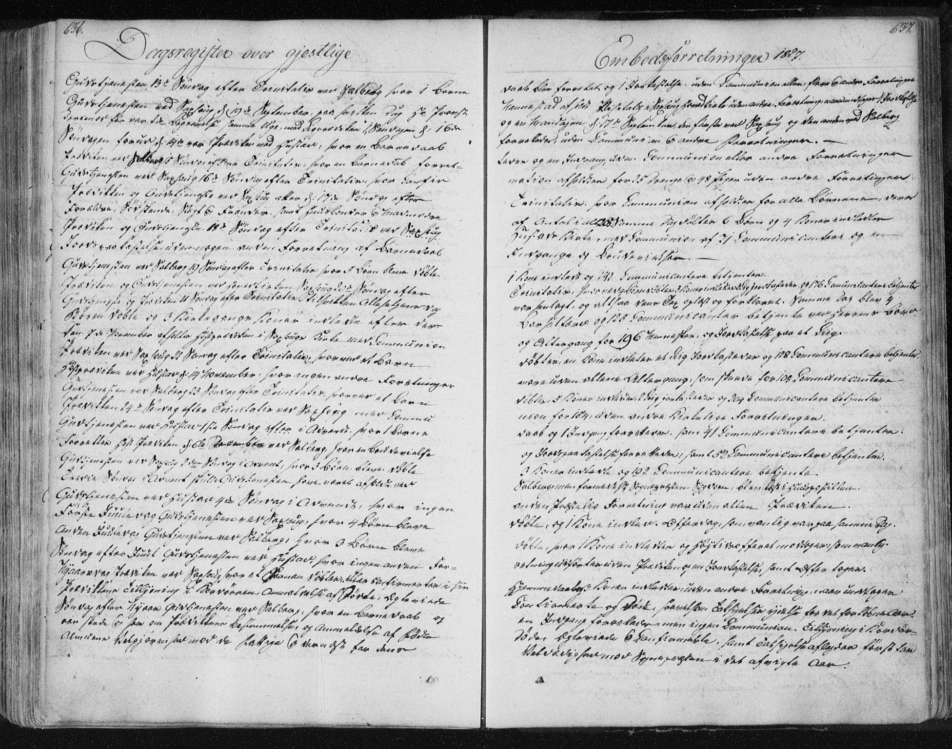 SAT, Ministerialprotokoller, klokkerbøker og fødselsregistre - Nord-Trøndelag, 730/L0276: Ministerialbok nr. 730A05, 1822-1830, s. 636-637