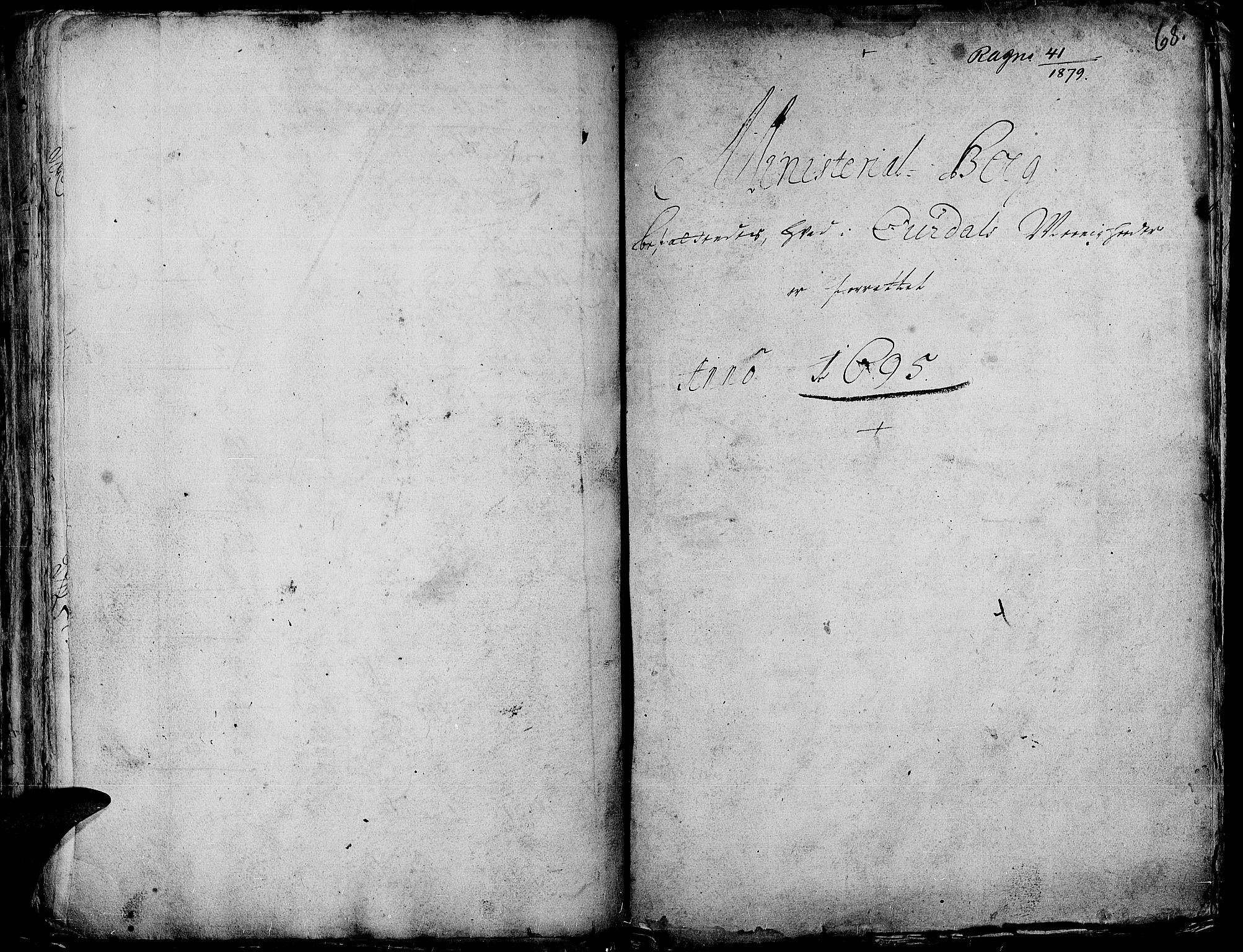 SAH, Aurdal prestekontor, Ministerialbok nr. 1-3, 1692-1730, s. 68