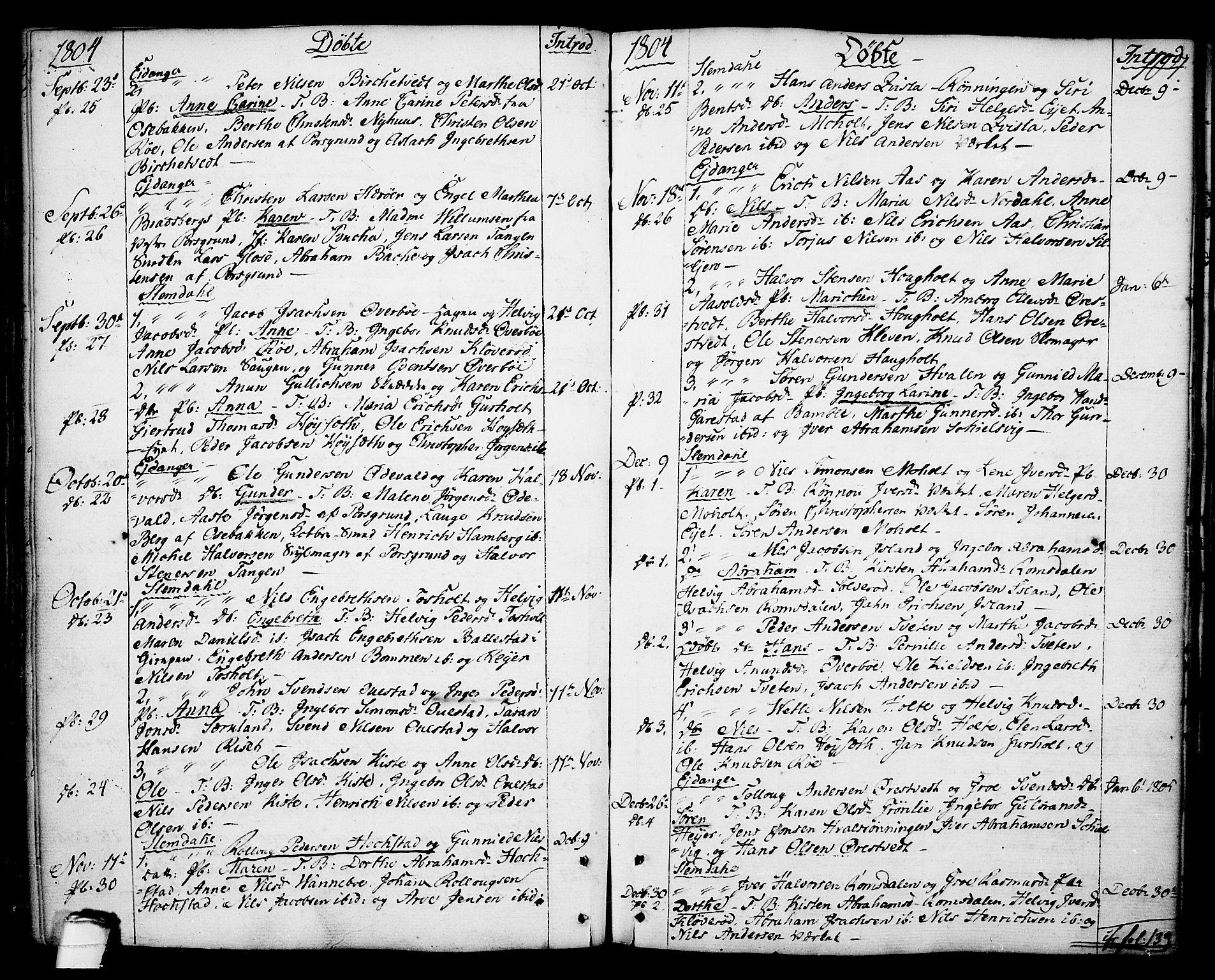 SAKO, Eidanger kirkebøker, F/Fa/L0006: Ministerialbok nr. 6, 1764-1814, s. 107