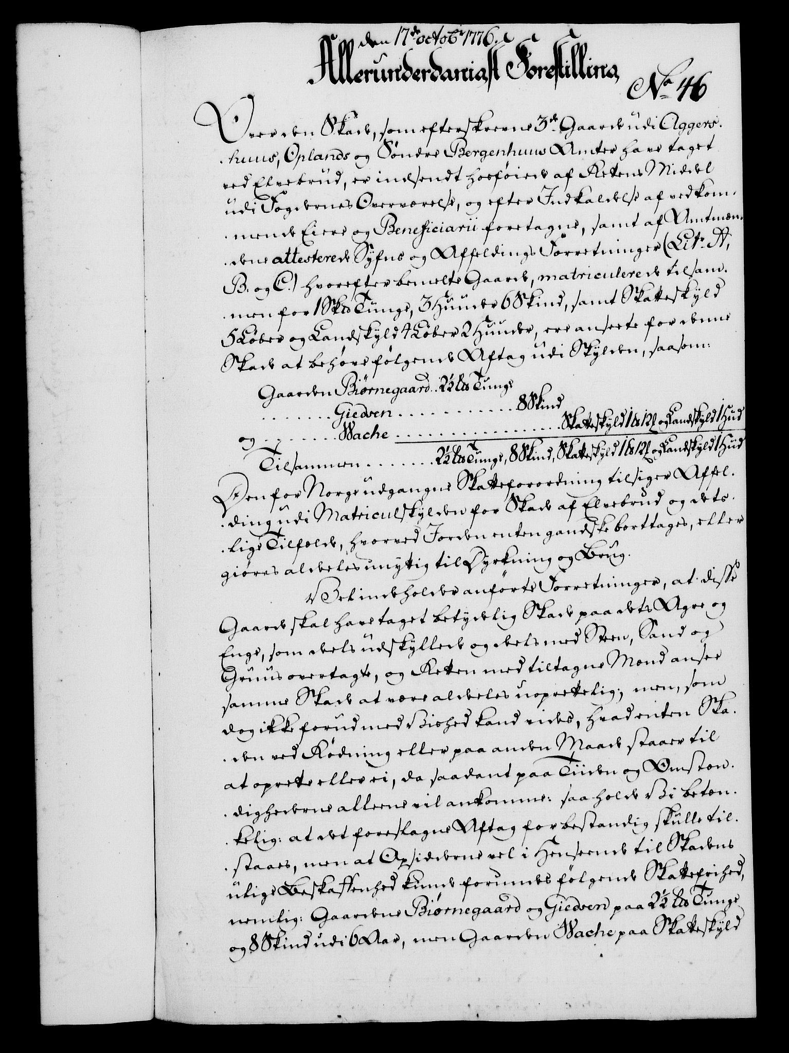 RA, Rentekammeret, Kammerkanselliet, G/Gf/Gfa/L0058: Norsk relasjons- og resolusjonsprotokoll (merket RK 52.58), 1776, s. 184