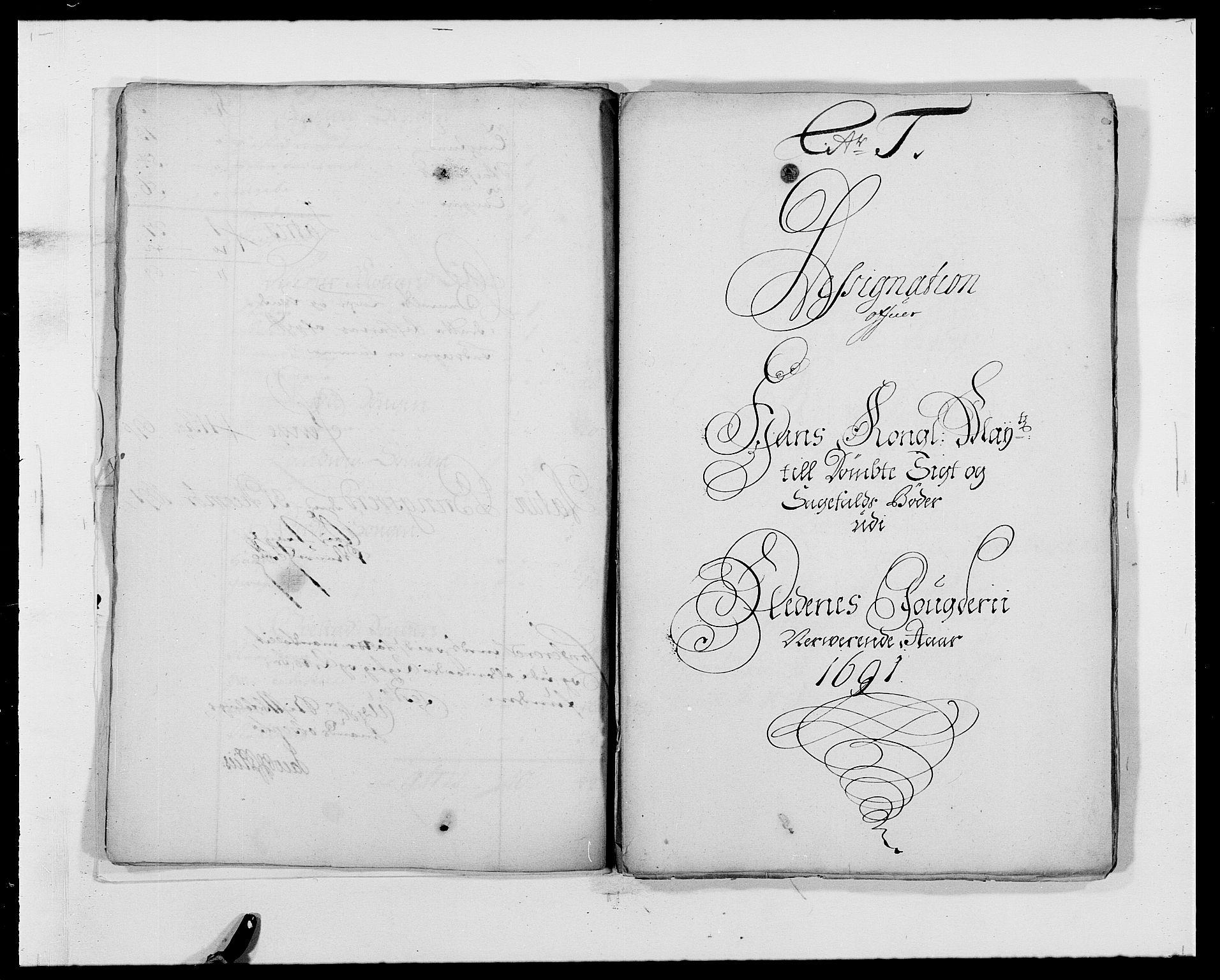 RA, Rentekammeret inntil 1814, Reviderte regnskaper, Fogderegnskap, R39/L2311: Fogderegnskap Nedenes, 1690-1692, s. 16