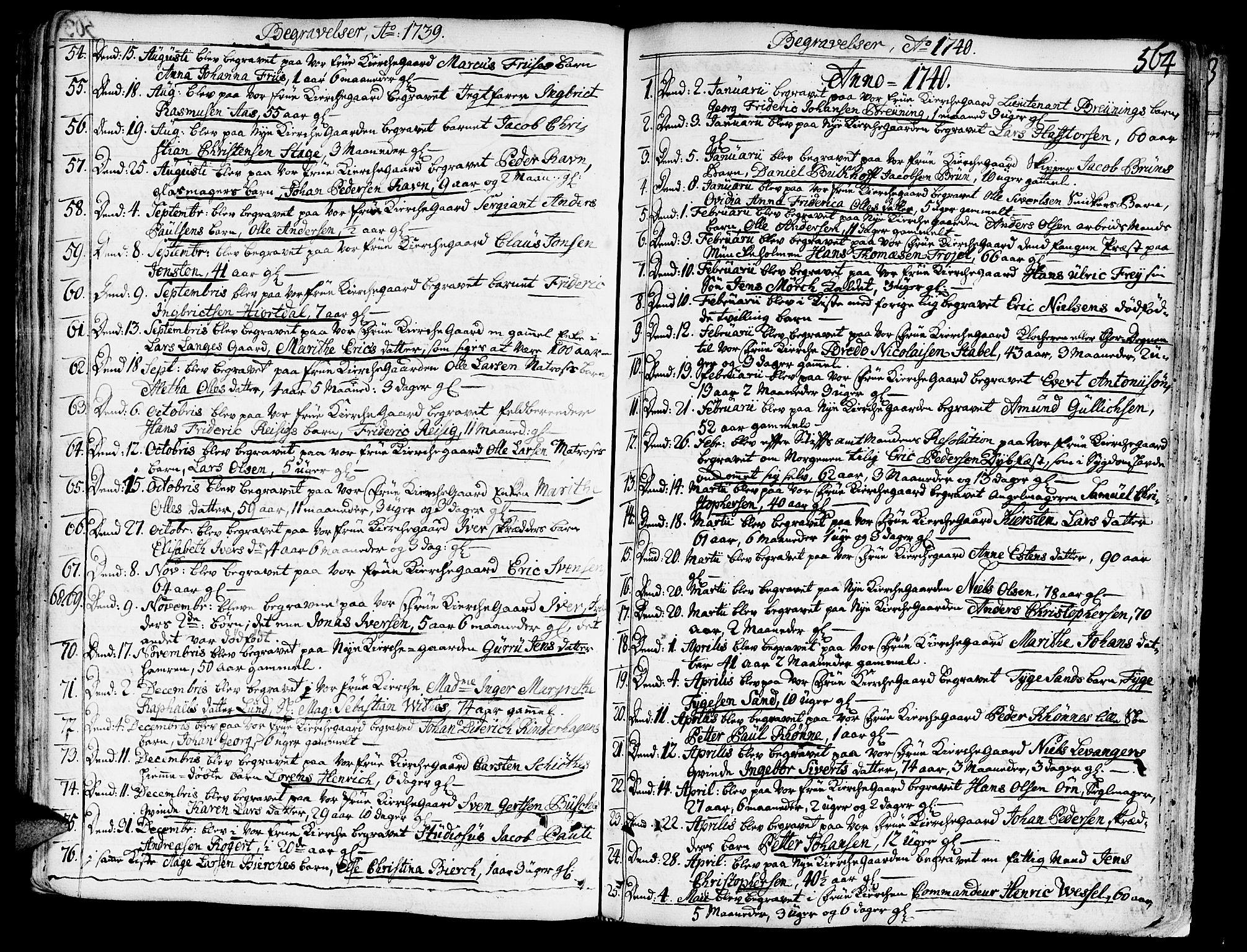 SAT, Ministerialprotokoller, klokkerbøker og fødselsregistre - Sør-Trøndelag, 602/L0103: Ministerialbok nr. 602A01, 1732-1774, s. 564