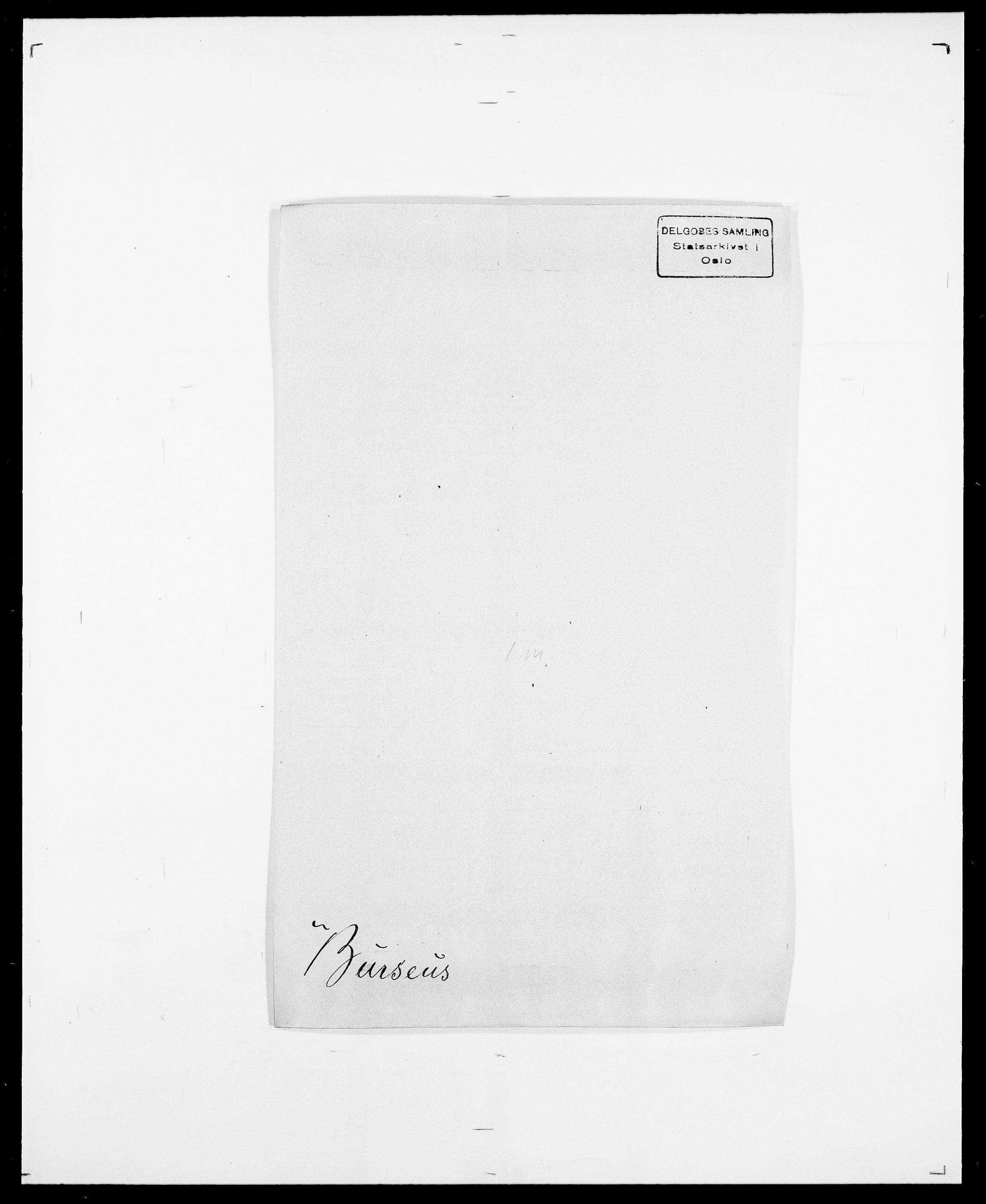 SAO, Delgobe, Charles Antoine - samling, D/Da/L0007: Buaas - Caphengst, s. 436