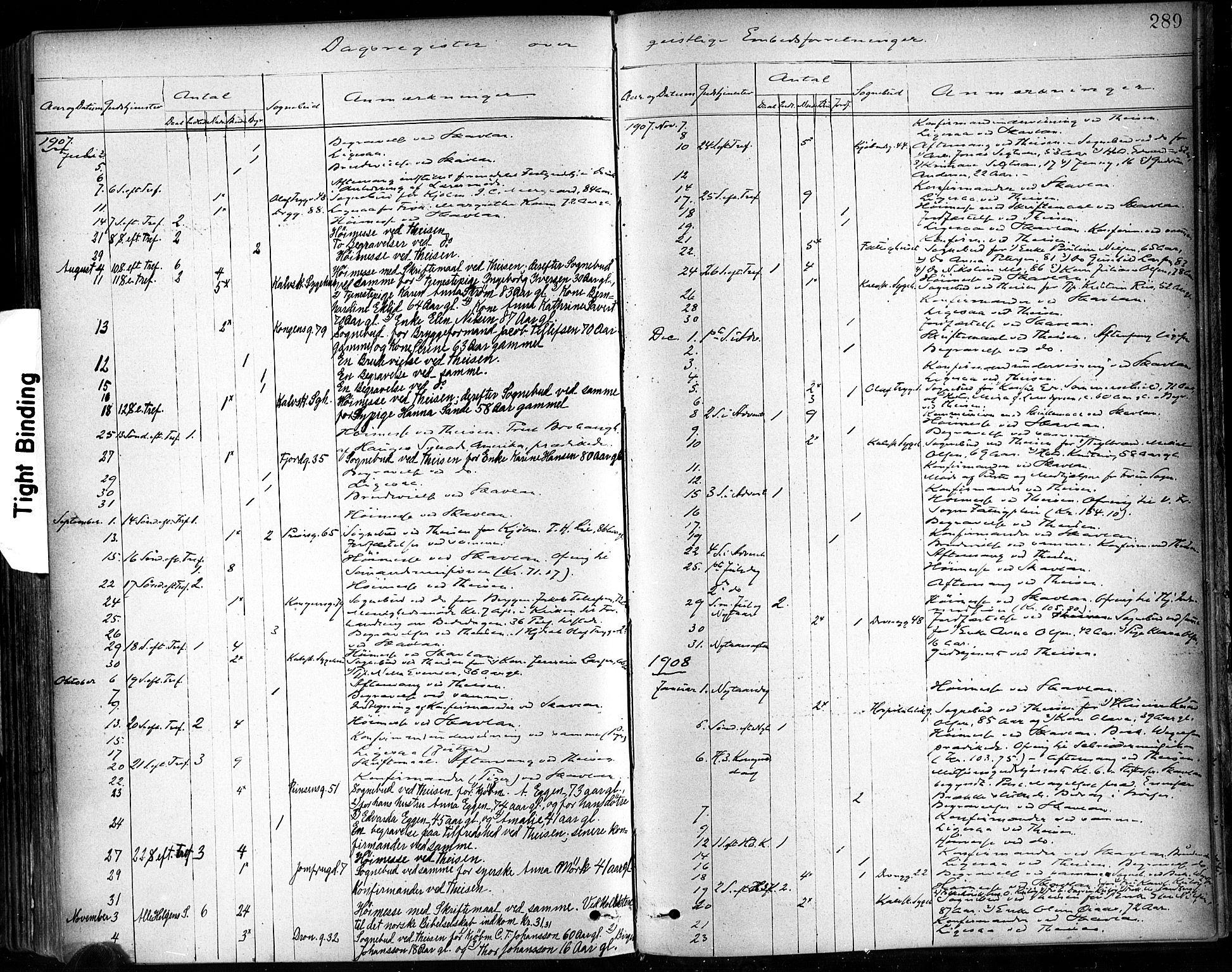 SAT, Ministerialprotokoller, klokkerbøker og fødselsregistre - Sør-Trøndelag, 602/L0120: Ministerialbok nr. 602A18, 1880-1913, s. 289