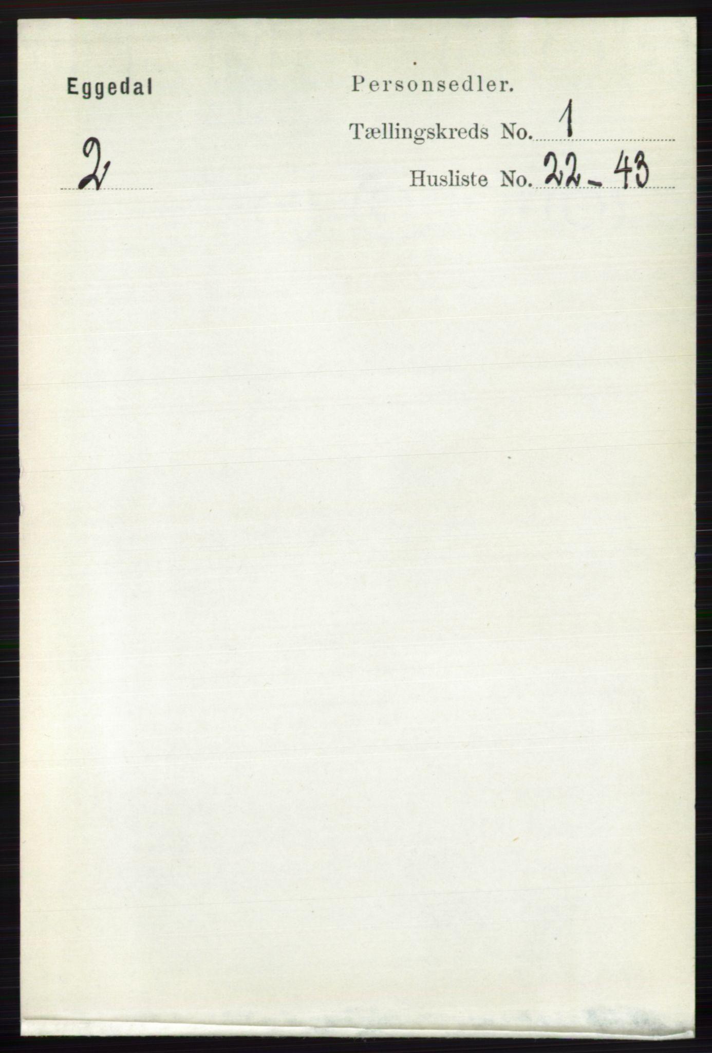 RA, Folketelling 1891 for 0621 Sigdal herred, 1891, s. 3713