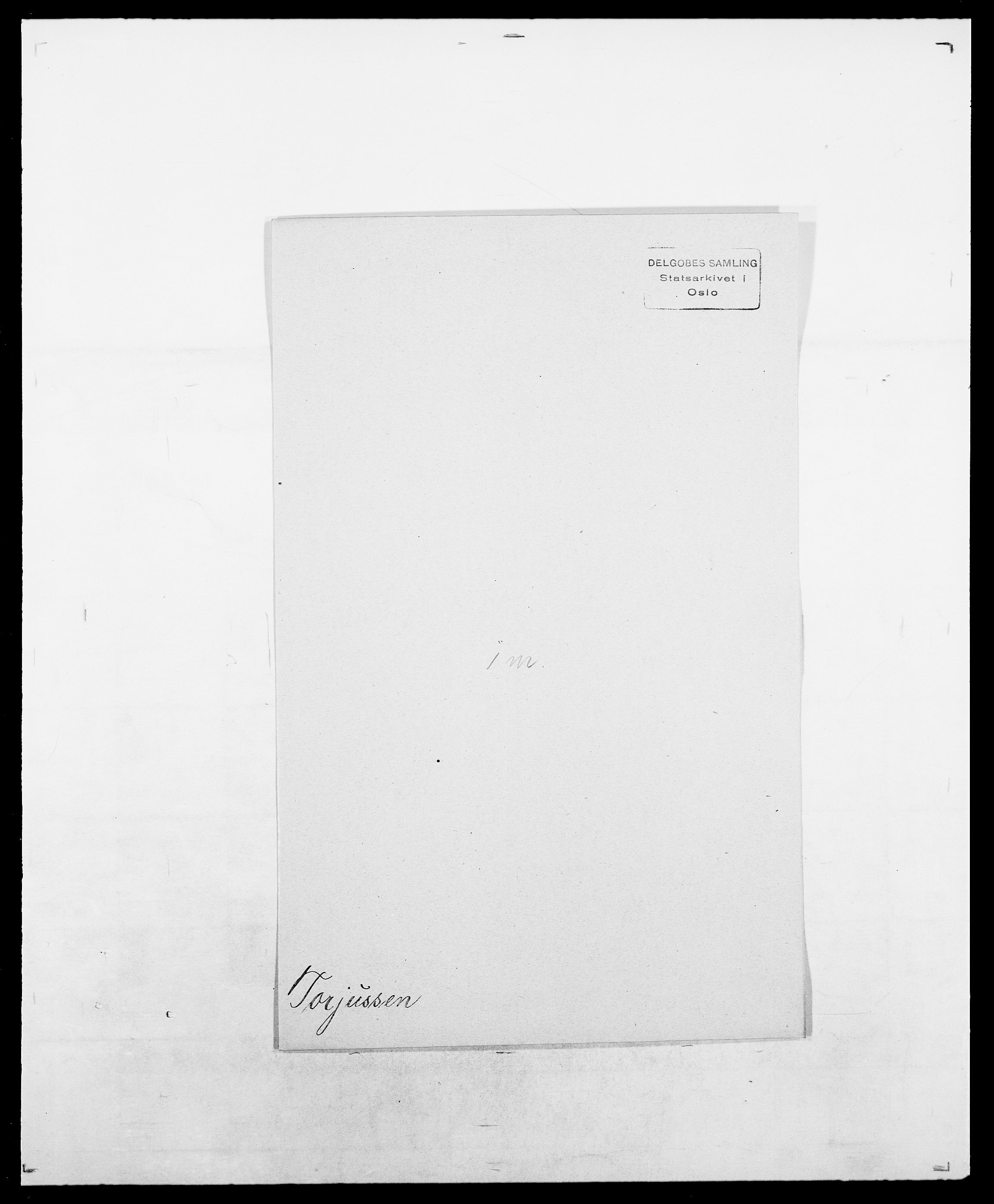 SAO, Delgobe, Charles Antoine - samling, D/Da/L0039: Thorsen - Urup, s. 172