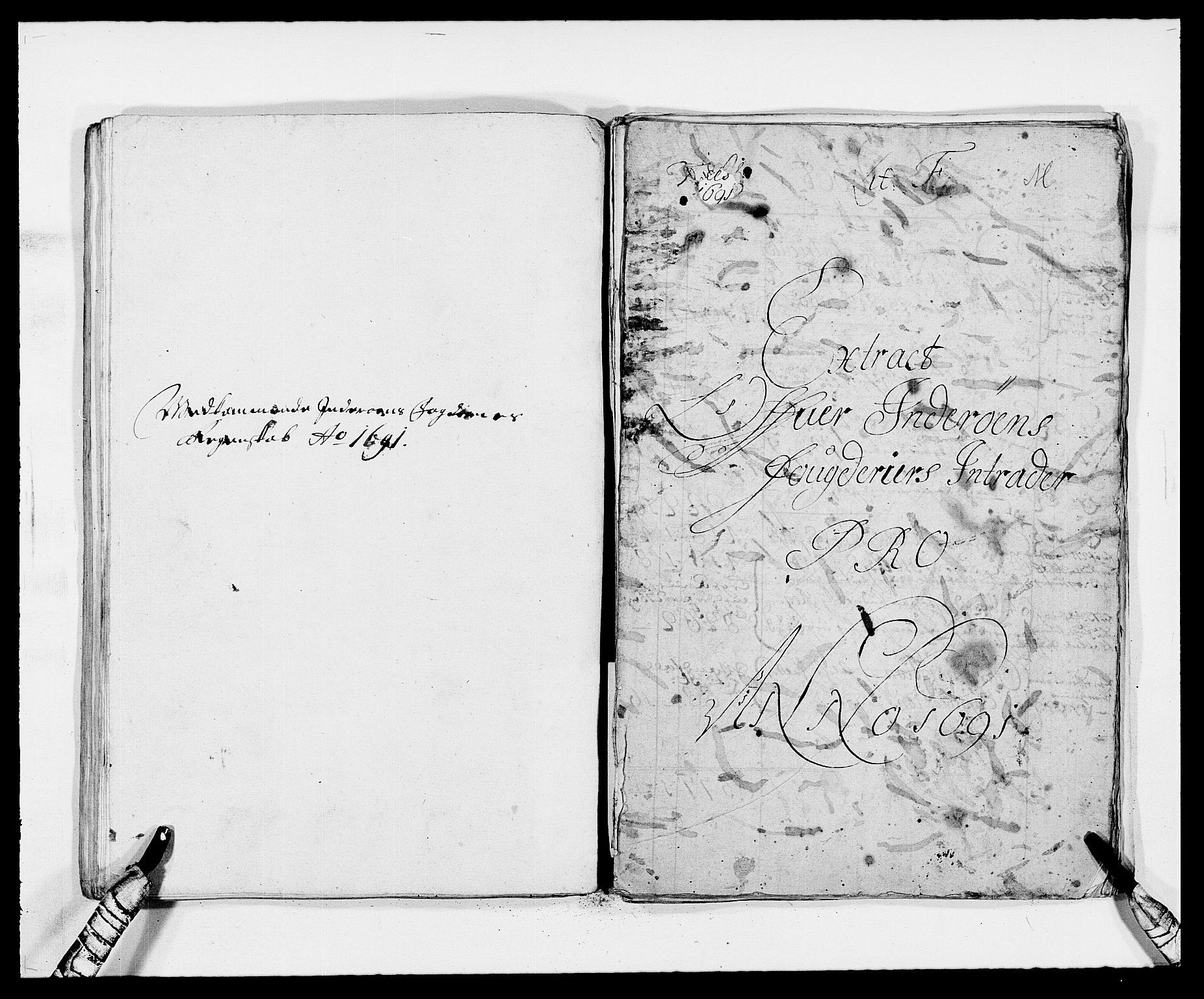 RA, Rentekammeret inntil 1814, Reviderte regnskaper, Fogderegnskap, R63/L4307: Fogderegnskap Inderøy, 1690-1691, s. 225