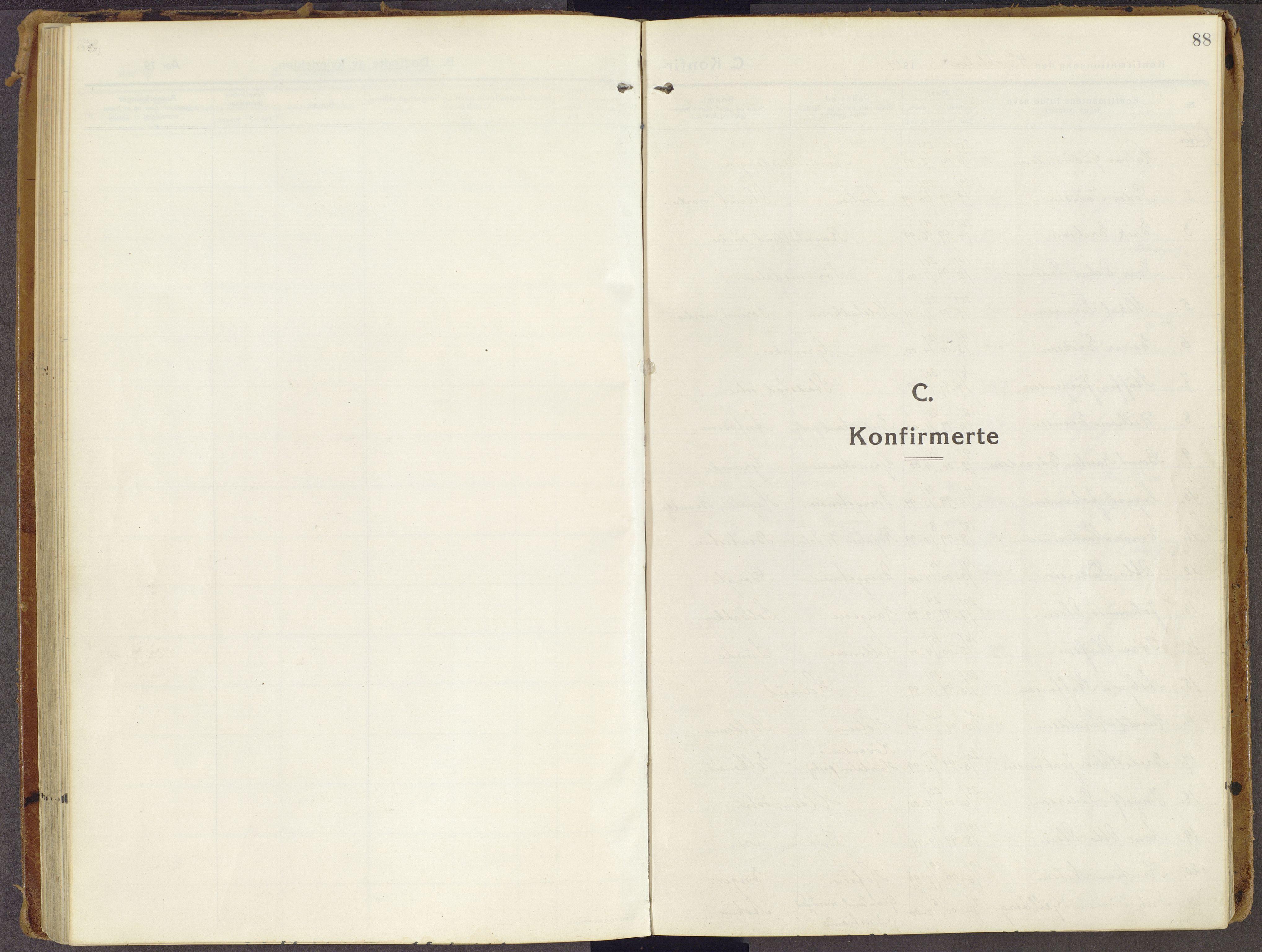 SAH, Brandbu prestekontor, Ministerialbok nr. 3, 1914-1928, s. 88