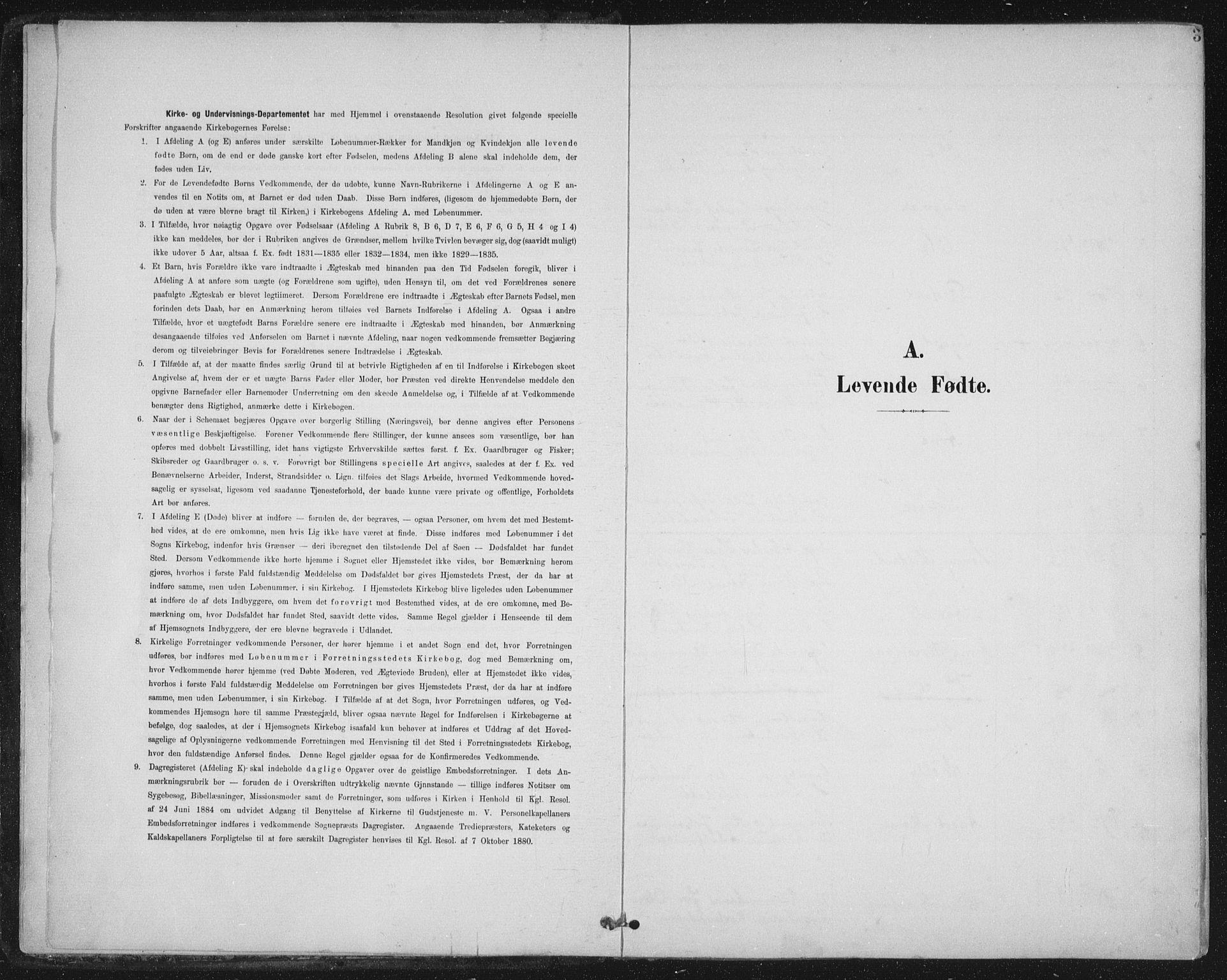 SAT, Ministerialprotokoller, klokkerbøker og fødselsregistre - Nord-Trøndelag, 723/L0246: Ministerialbok nr. 723A15, 1900-1917, s. 3