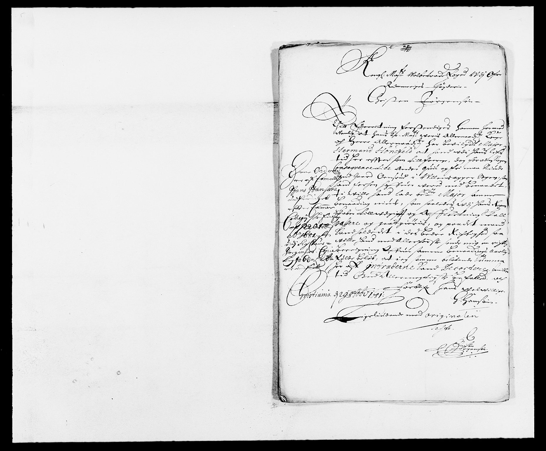 RA, Rentekammeret inntil 1814, Reviderte regnskaper, Fogderegnskap, R12/L0695: Fogderegnskap Øvre Romerike, 1680, s. 317