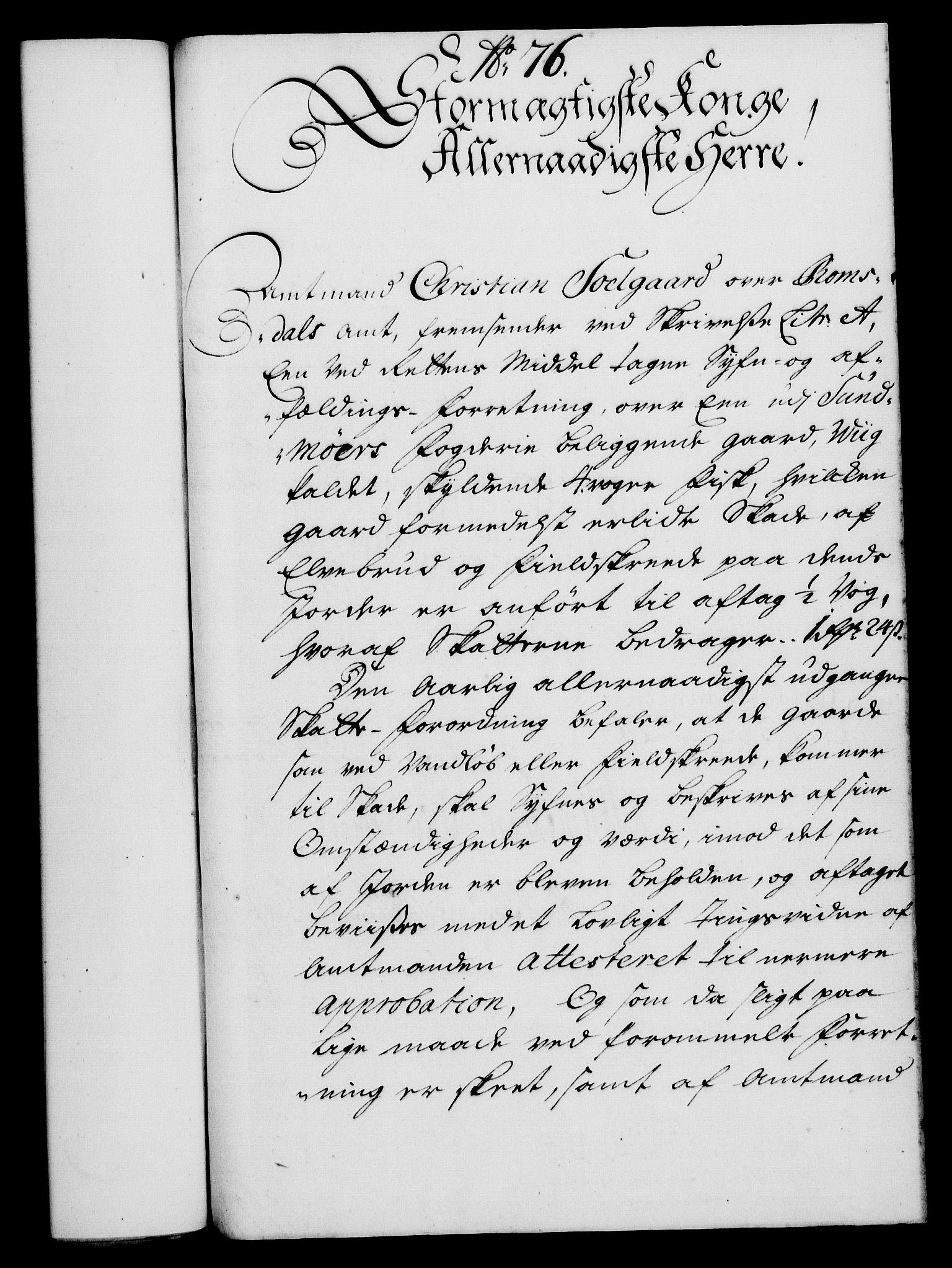 RA, Rentekammeret, Kammerkanselliet, G/Gf/Gfa/L0019: Norsk relasjons- og resolusjonsprotokoll (merket RK 52.19), 1736, s. 508