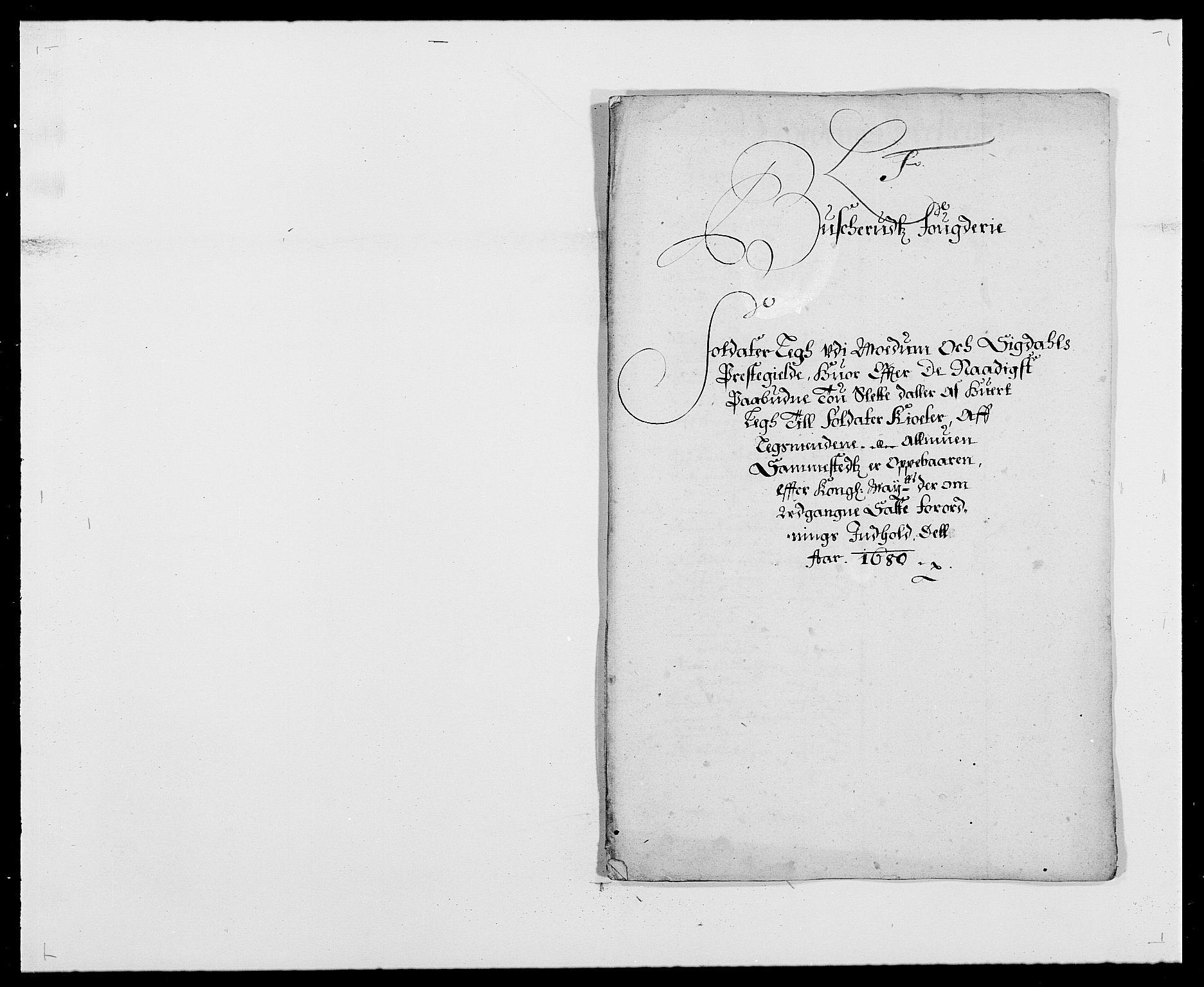 RA, Rentekammeret inntil 1814, Reviderte regnskaper, Fogderegnskap, R25/L1675: Fogderegnskap Buskerud, 1678-1681, s. 136