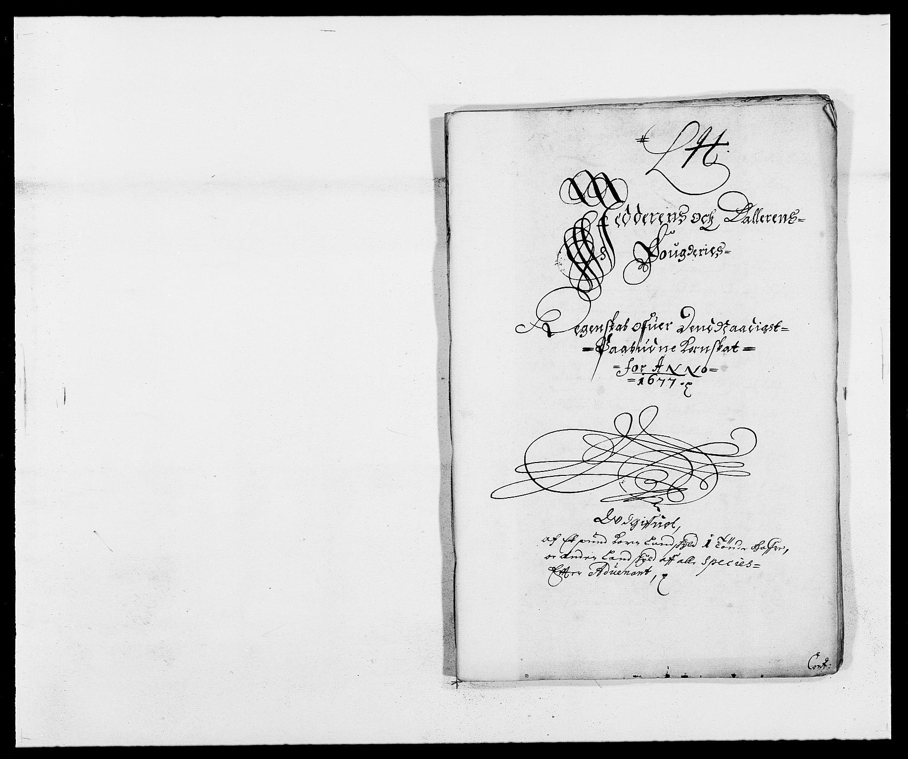RA, Rentekammeret inntil 1814, Reviderte regnskaper, Fogderegnskap, R46/L2717: Fogderegnskap Jæren og Dalane, 1677, s. 228
