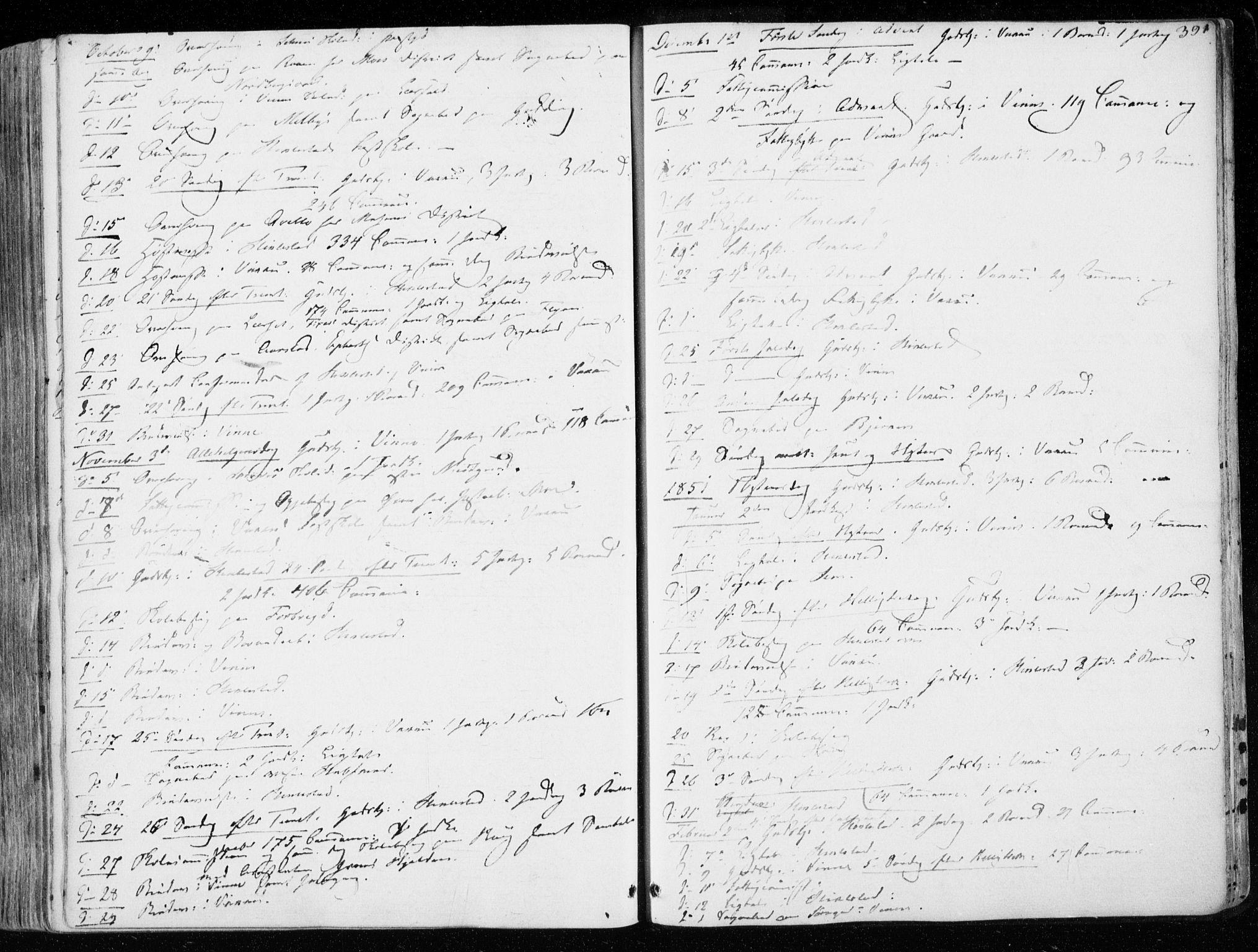SAT, Ministerialprotokoller, klokkerbøker og fødselsregistre - Nord-Trøndelag, 723/L0239: Ministerialbok nr. 723A08, 1841-1851, s. 391