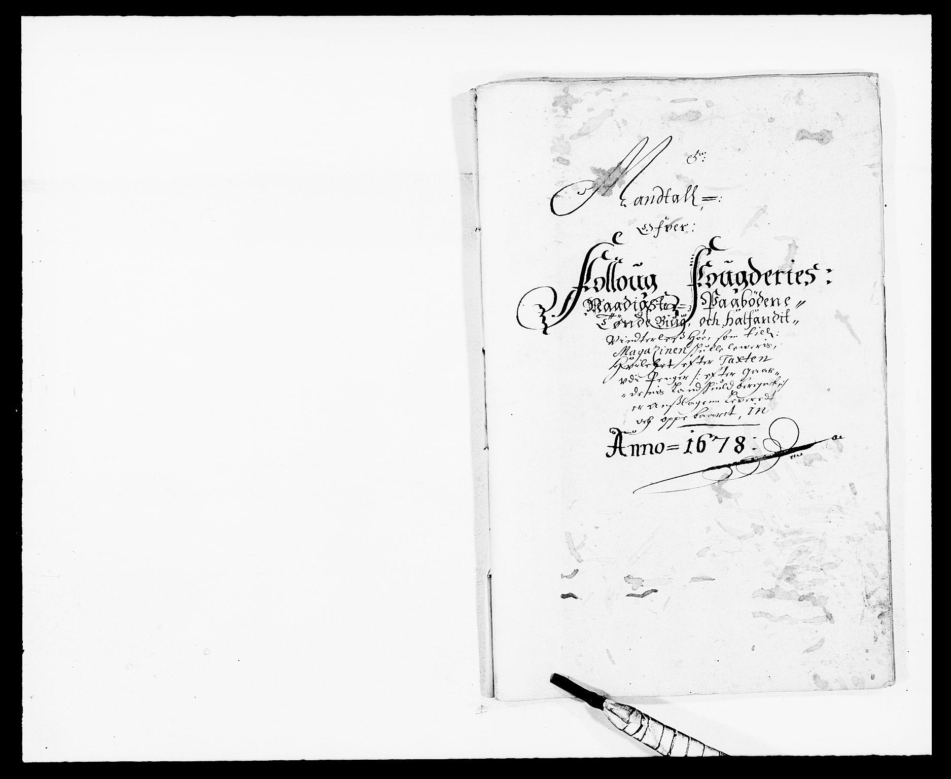 RA, Rentekammeret inntil 1814, Reviderte regnskaper, Fogderegnskap, R09/L0427: Fogderegnskap Follo, 1678, s. 194
