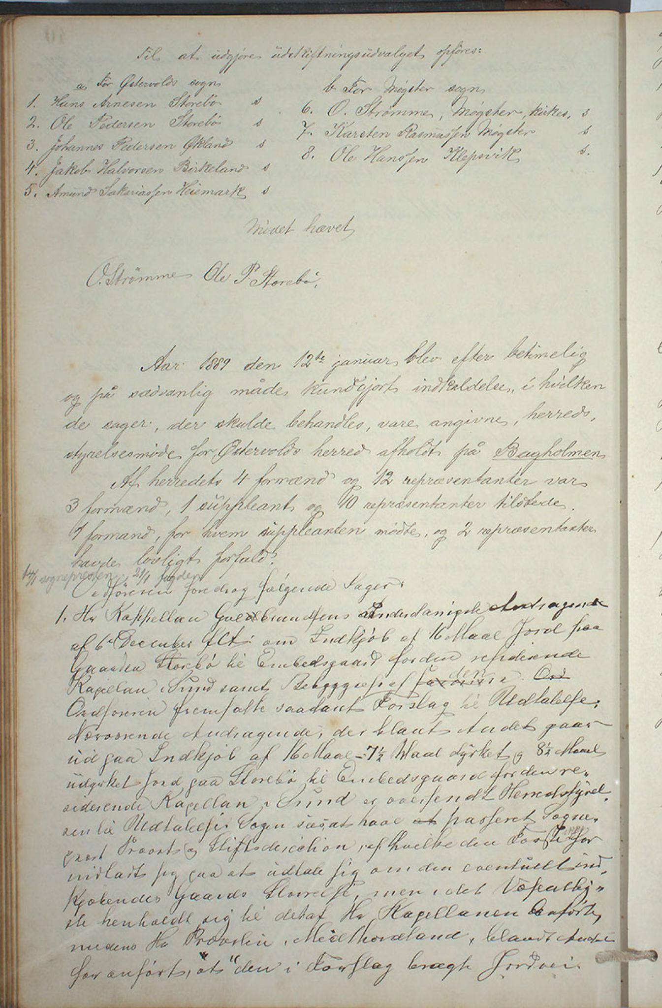 IKAH, Austevoll kommune. Formannskapet, A/Aa/L0001: Østervolds Herredsforhandlings-protokoll, 1886-1900, s. 81