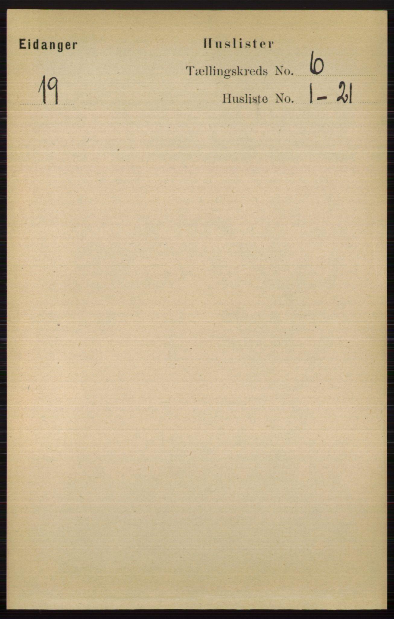 RA, Folketelling 1891 for 0813 Eidanger herred, 1891, s. 2544