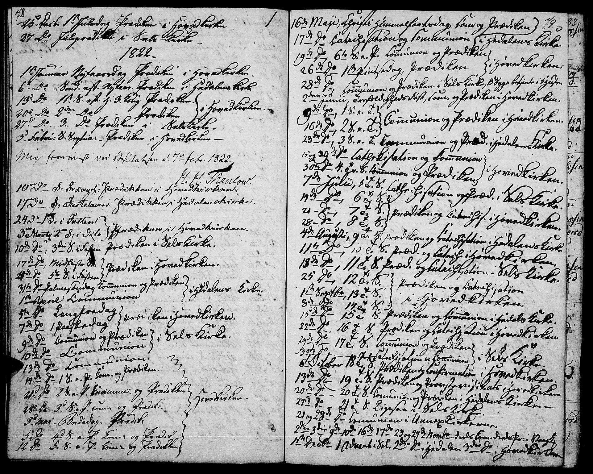 SAH, Vågå prestekontor, Ministerialbok nr. 2, 1810-1815, s. 78-79