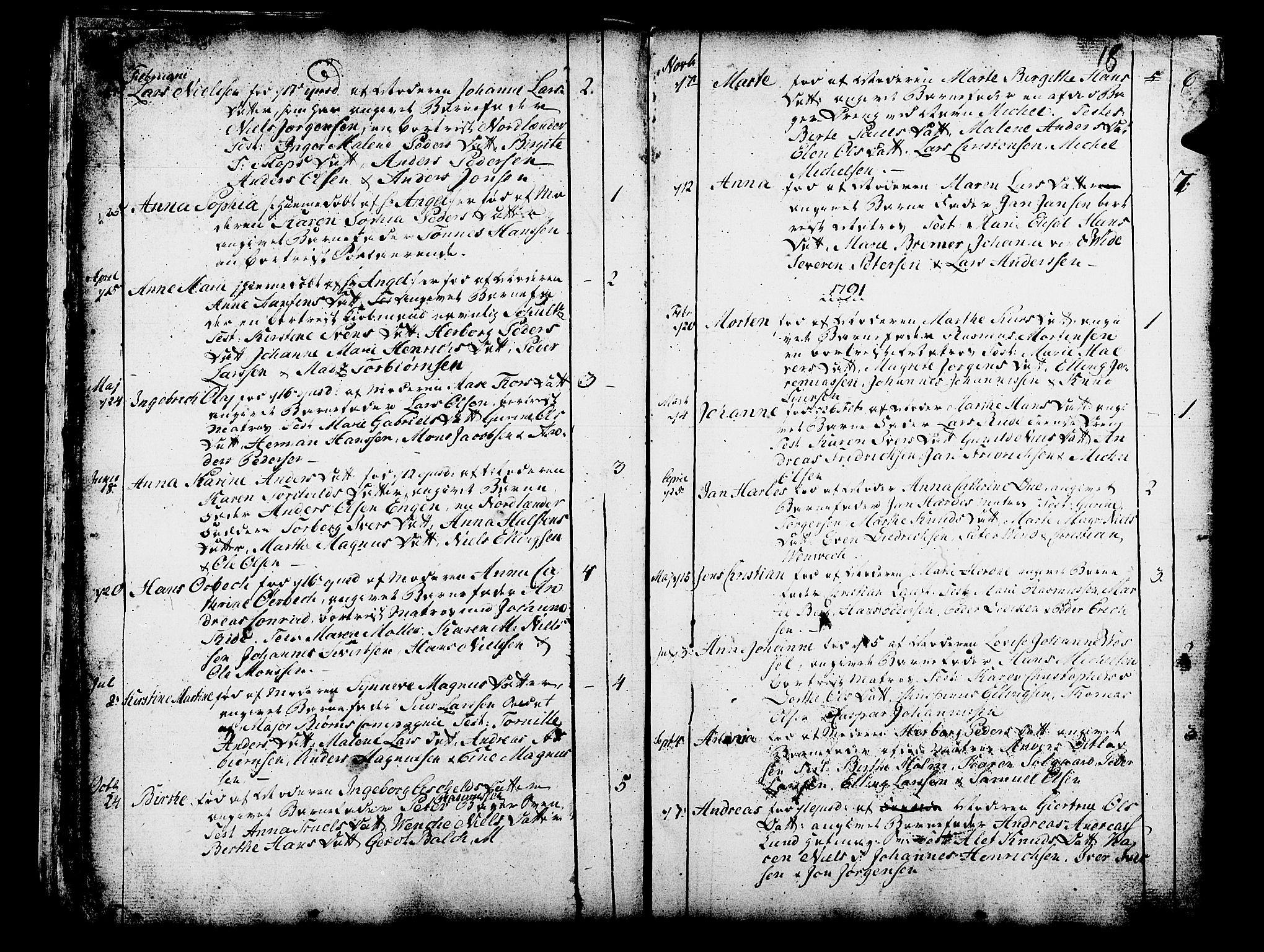 SAB, Domkirken Sokneprestembete, H/Haa/L0003: Ministerialbok nr. A 3, 1758-1789, s. 18