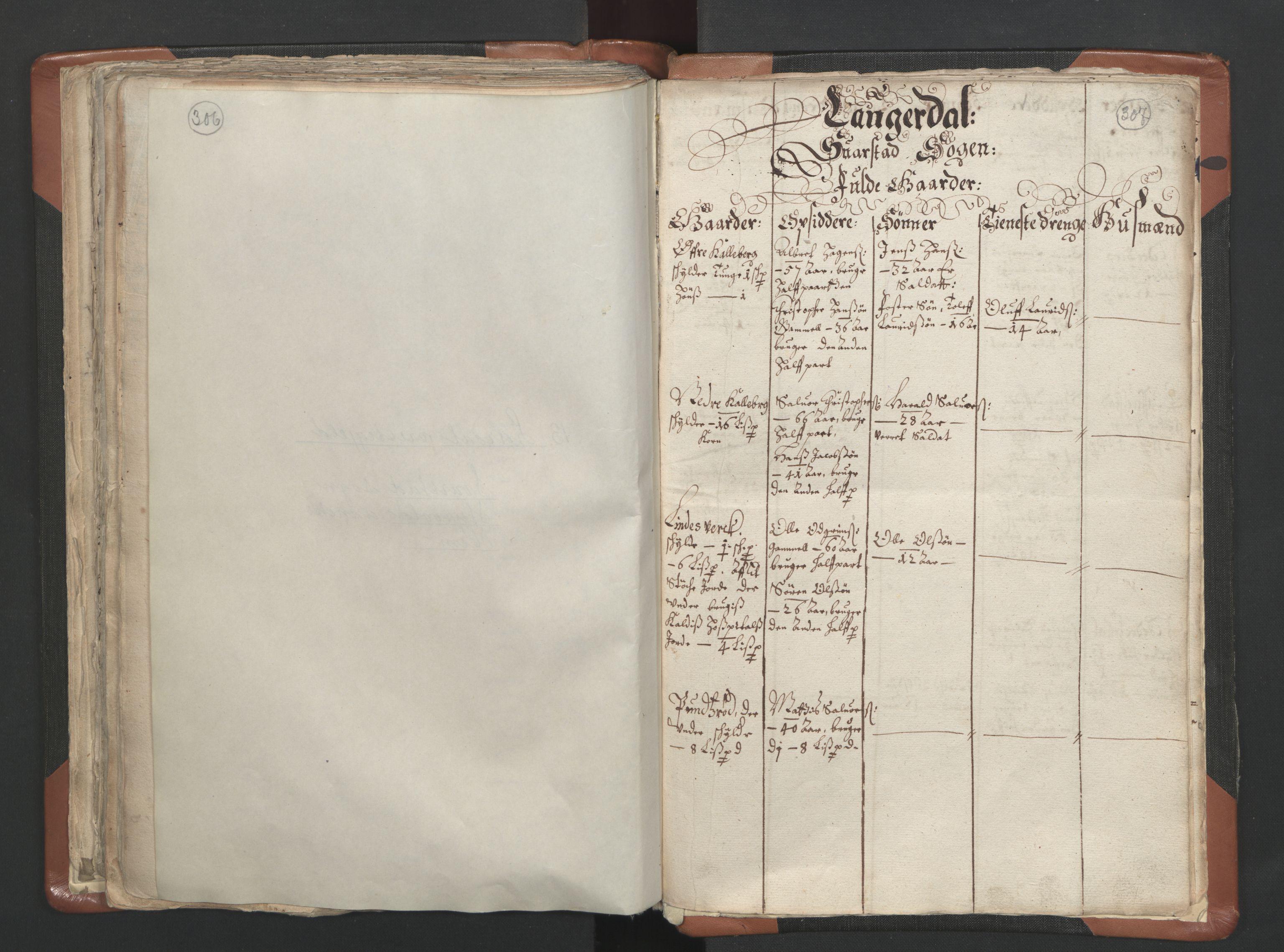 RA, Sogneprestenes manntall 1664-1666, nr. 10: Tønsberg prosti, 1664-1666, s. 306-307
