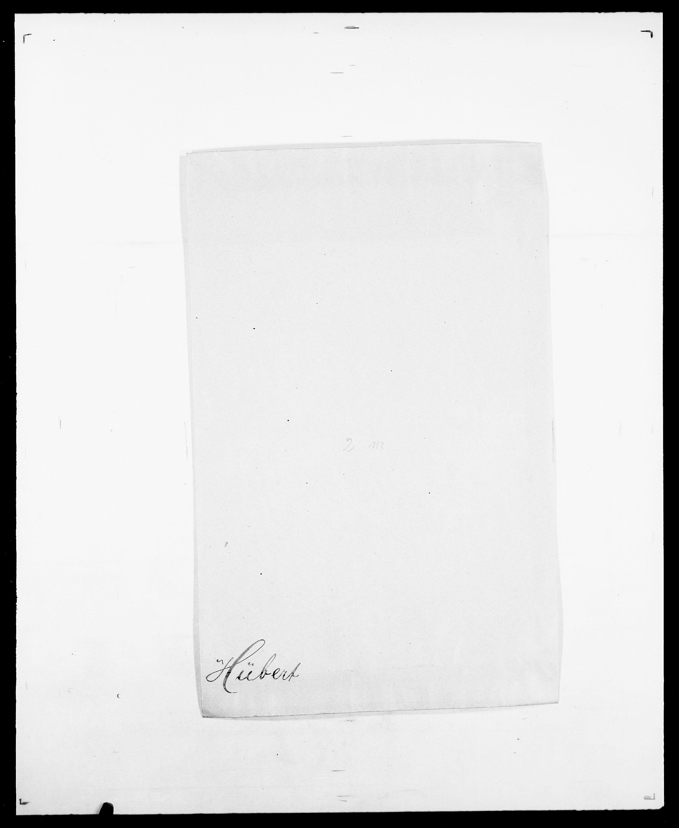 SAO, Delgobe, Charles Antoine - samling, D/Da/L0019: van der Hude - Joys, s. 232