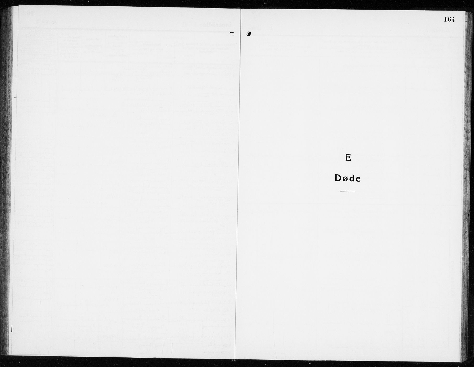 SAKO, Lier kirkebøker, G/Gb/L0005: Klokkerbok nr. II 5, 1932-1942, s. 164