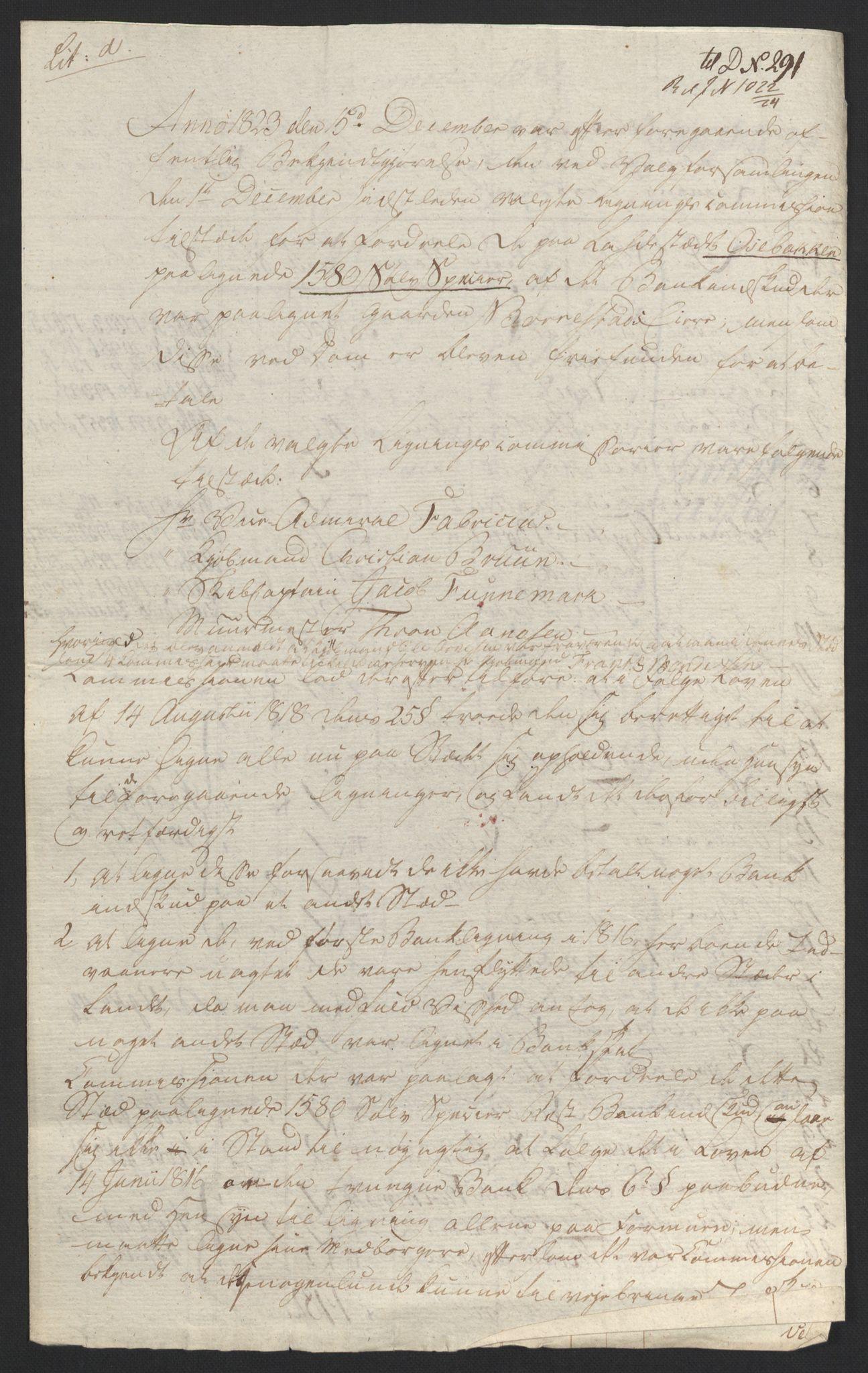 NOBA, Norges Bank/Sølvskatten 1816*, 1816-1824, s. 140