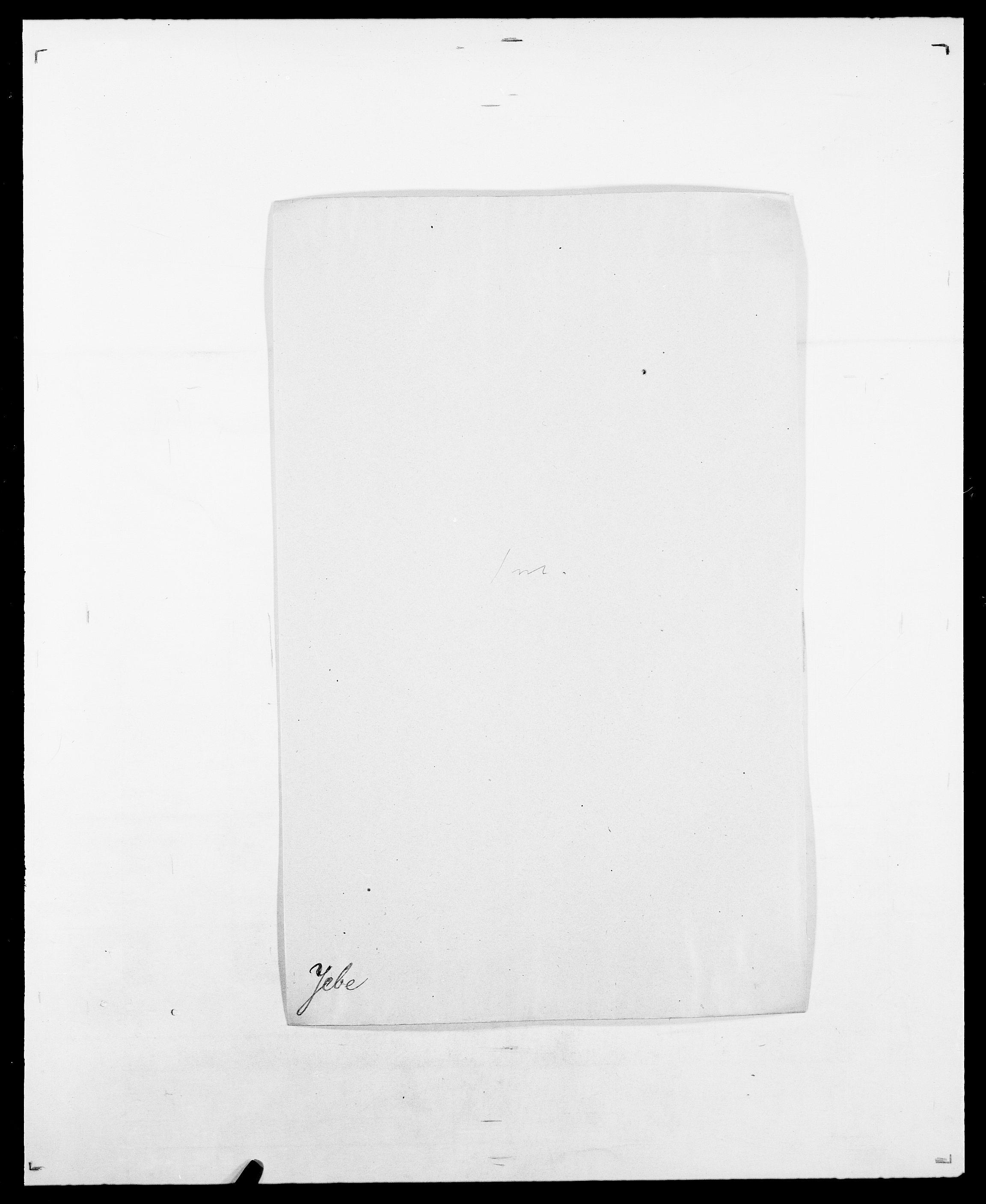 SAO, Delgobe, Charles Antoine - samling, D/Da/L0019: van der Hude - Joys, s. 614