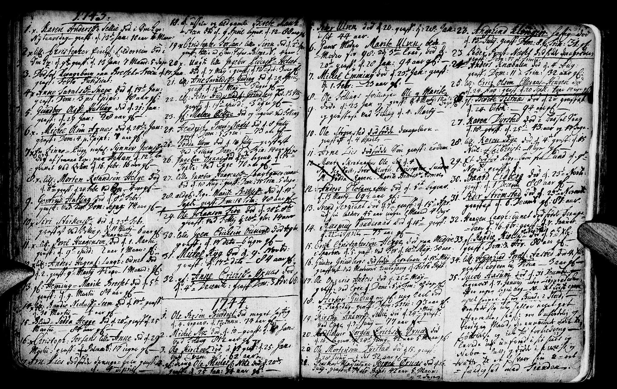 SAT, Ministerialprotokoller, klokkerbøker og fødselsregistre - Nord-Trøndelag, 746/L0439: Ministerialbok nr. 746A01, 1688-1759, s. 67