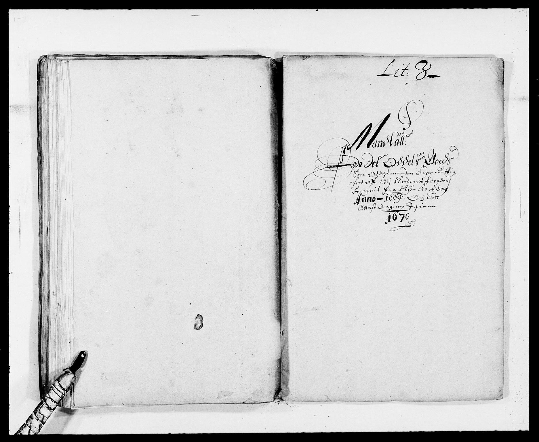 RA, Rentekammeret inntil 1814, Reviderte regnskaper, Fogderegnskap, R39/L2297: Fogderegnskap Nedenes, 1667-1669, s. 421