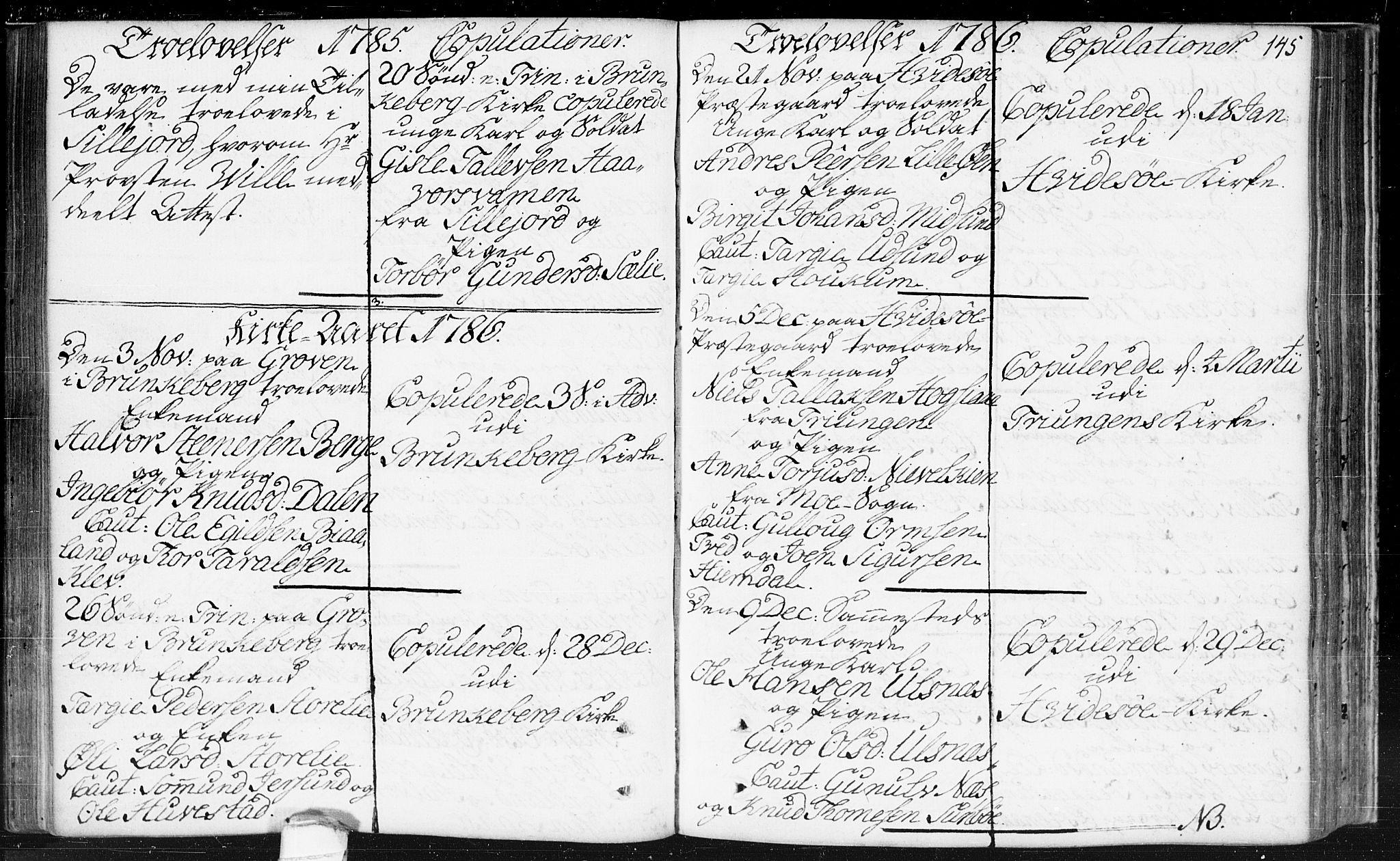 SAKO, Kviteseid kirkebøker, F/Fa/L0002: Ministerialbok nr. I 2, 1773-1786, s. 145