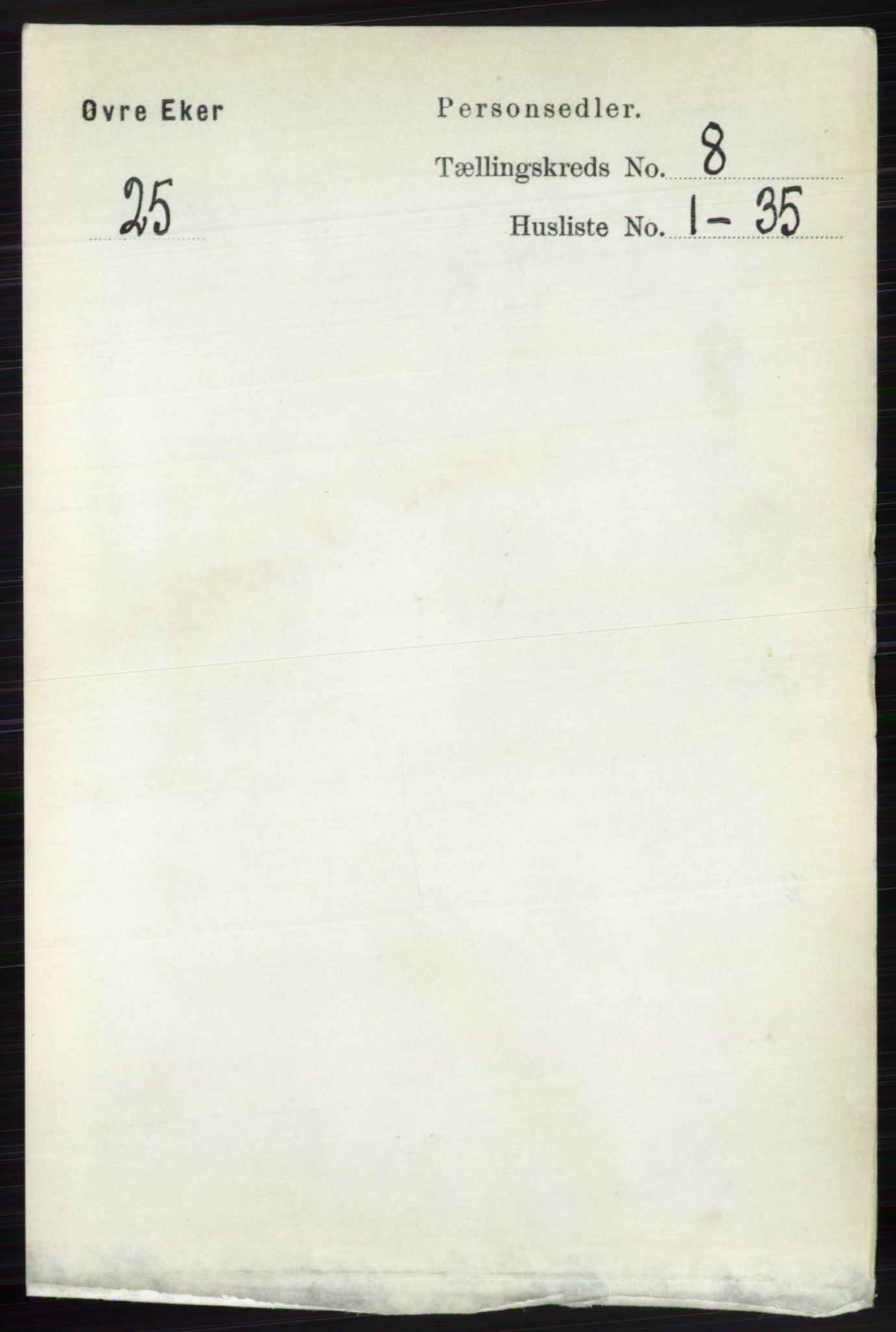 RA, Folketelling 1891 for 0624 Øvre Eiker herred, 1891, s. 3232