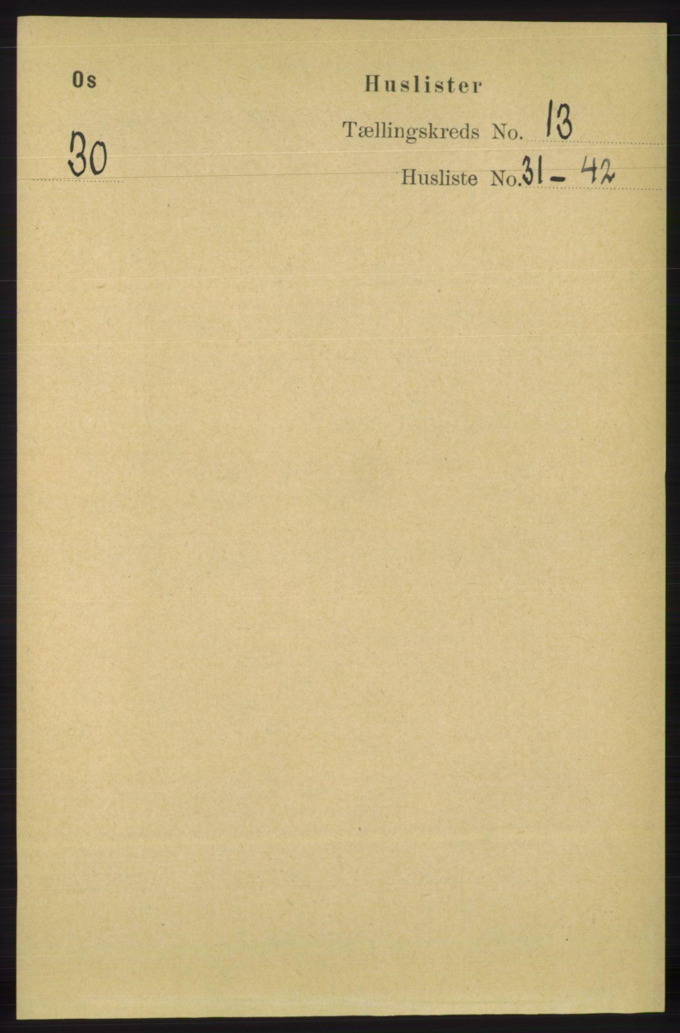 RA, Folketelling 1891 for 1243 Os herred, 1891, s. 2959