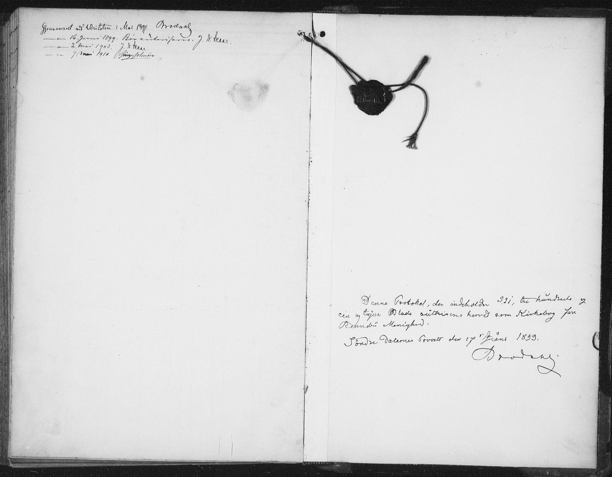 SAT, Ministerialprotokoller, klokkerbøker og fødselsregistre - Sør-Trøndelag, 674/L0872: Ministerialbok nr. 674A04, 1897-1907