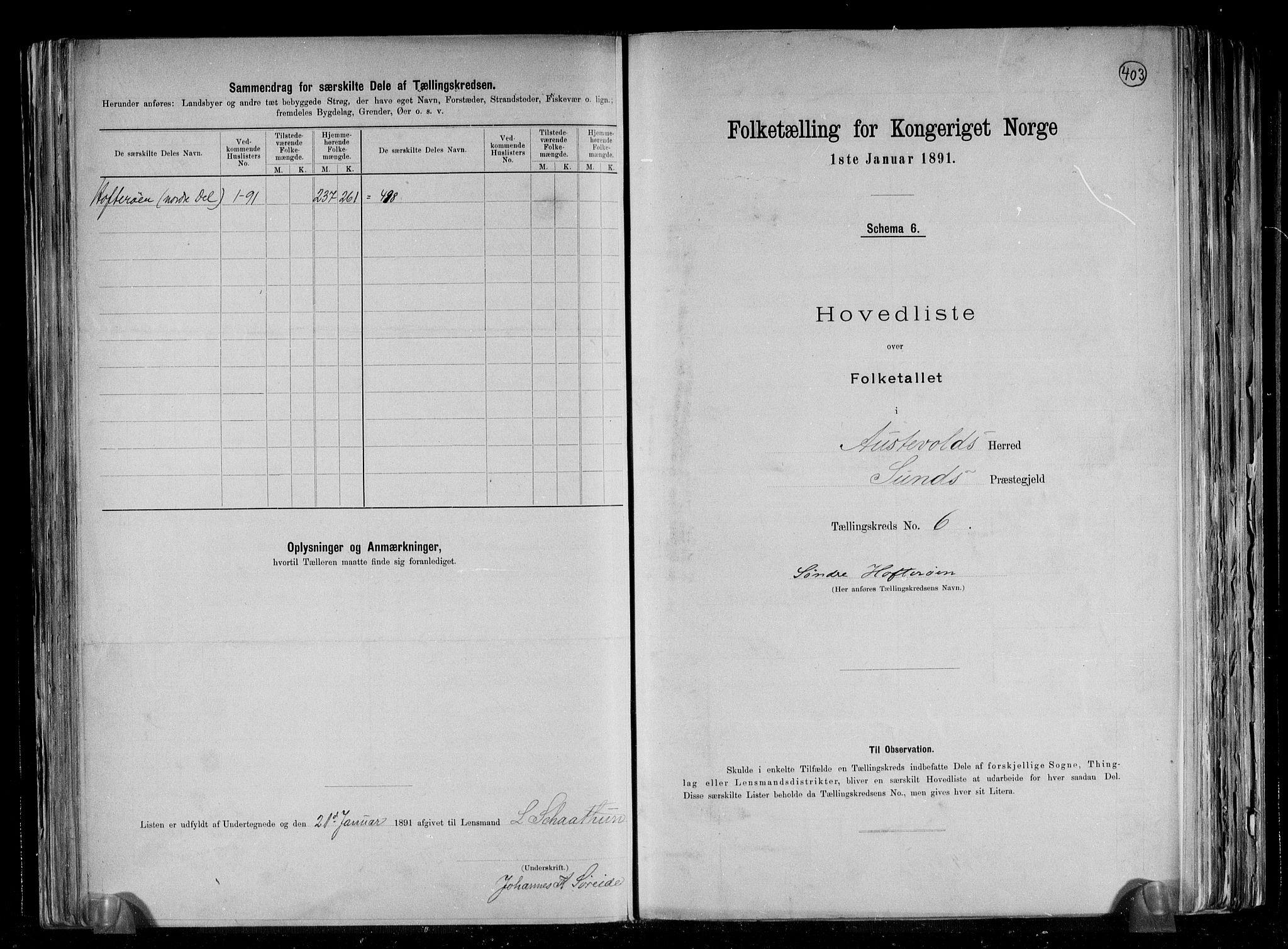 RA, Folketelling 1891 for 1244 Austevoll herred, 1891, s. 14