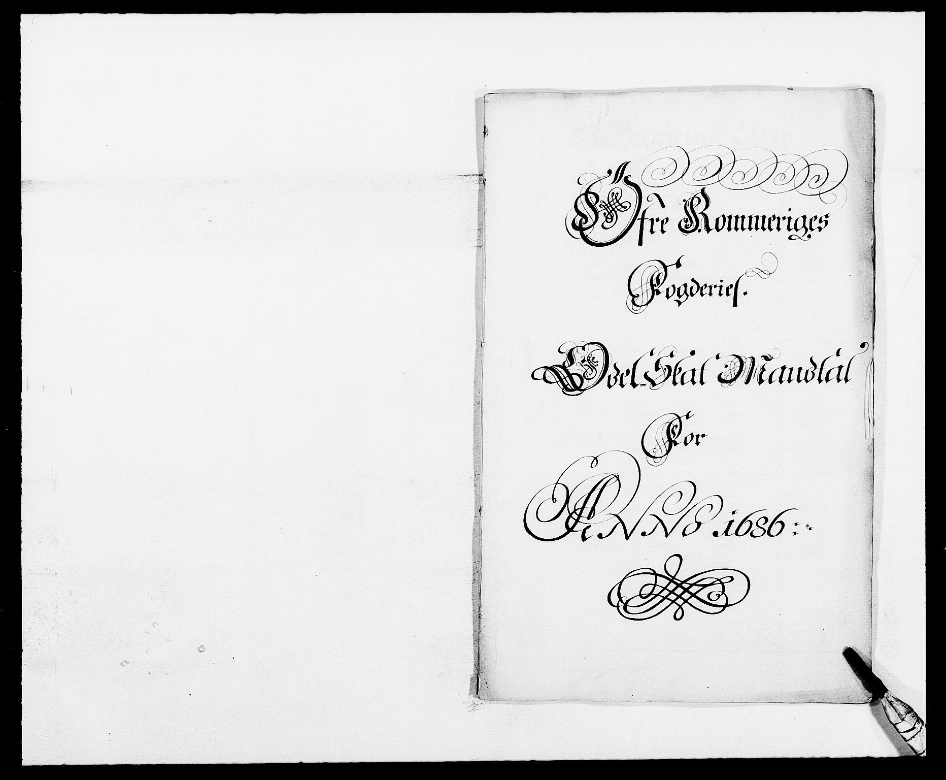 RA, Rentekammeret inntil 1814, Reviderte regnskaper, Fogderegnskap, R12/L0699: Fogderegnskap Øvre Romerike, 1685-1686, s. 275