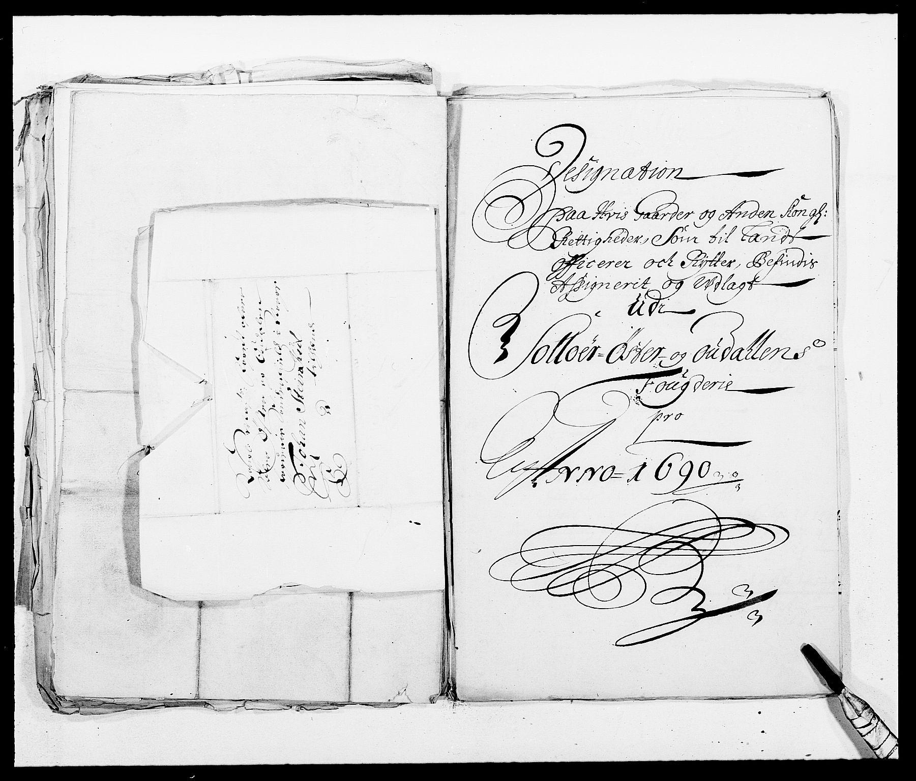 RA, Rentekammeret inntil 1814, Reviderte regnskaper, Fogderegnskap, R13/L0828: Fogderegnskap Solør, Odal og Østerdal, 1690, s. 311