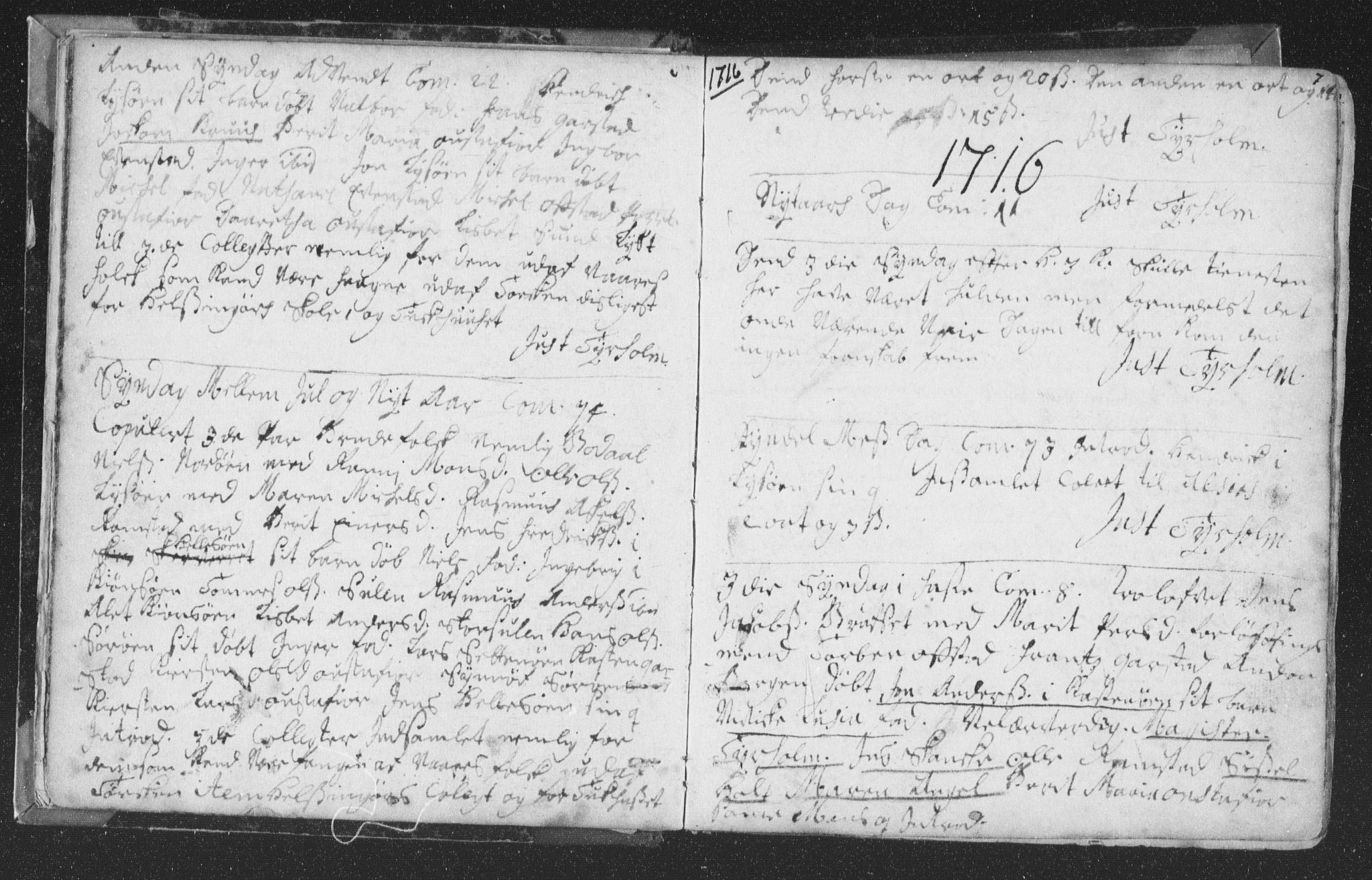 SAT, Ministerialprotokoller, klokkerbøker og fødselsregistre - Nord-Trøndelag, 786/L0685: Ministerialbok nr. 786A01, 1710-1798, s. 7