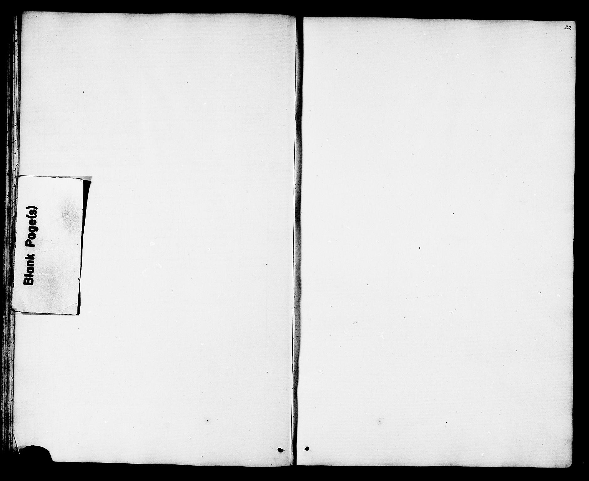 SAT, Ministerialprotokoller, klokkerbøker og fødselsregistre - Nord-Trøndelag, 788/L0695: Ministerialbok nr. 788A02, 1843-1862, s. 22