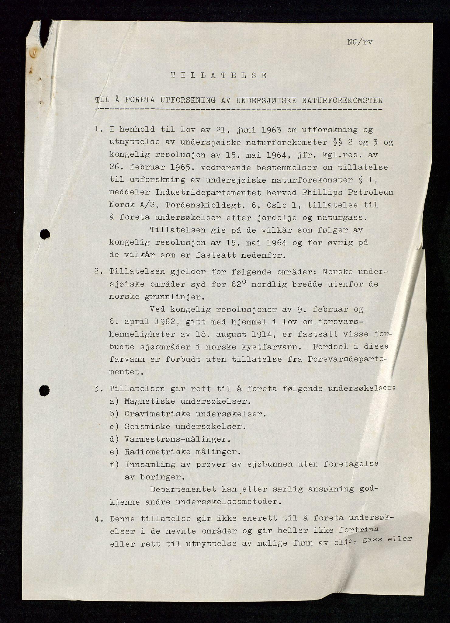 SAST, Industridepartementet, Oljekontoret, Da/L0003: Arkivnøkkel 711 Undersøkelser og utforskning, 1963-1971, s. 181