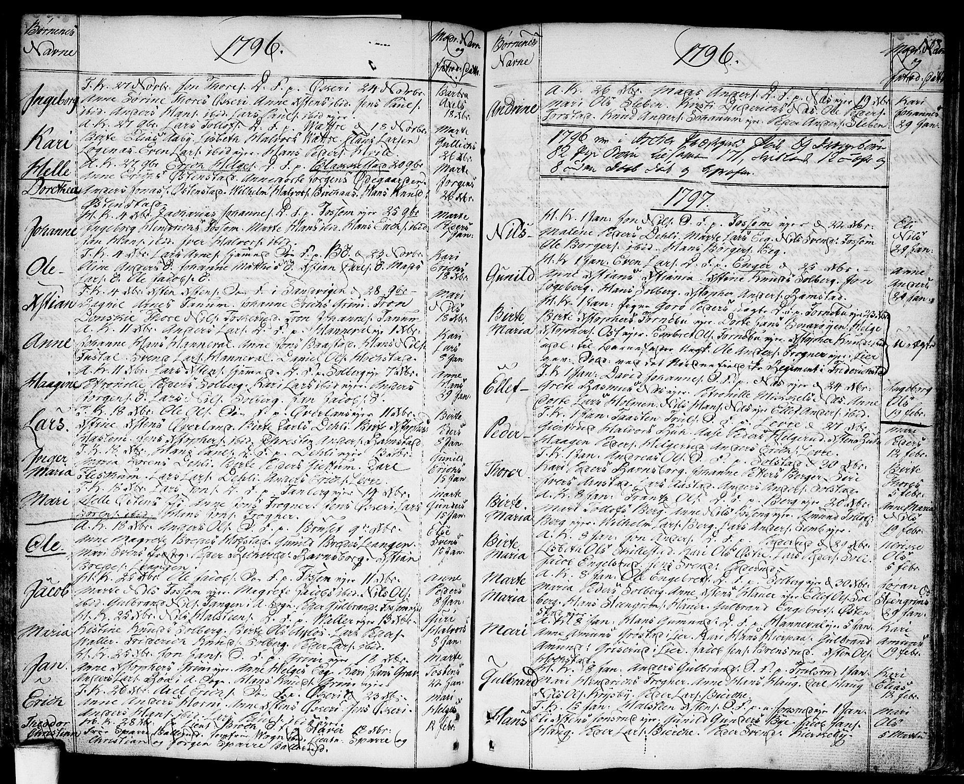 SAO, Asker prestekontor Kirkebøker, F/Fa/L0003: Ministerialbok nr. I 3, 1767-1807, s. 138