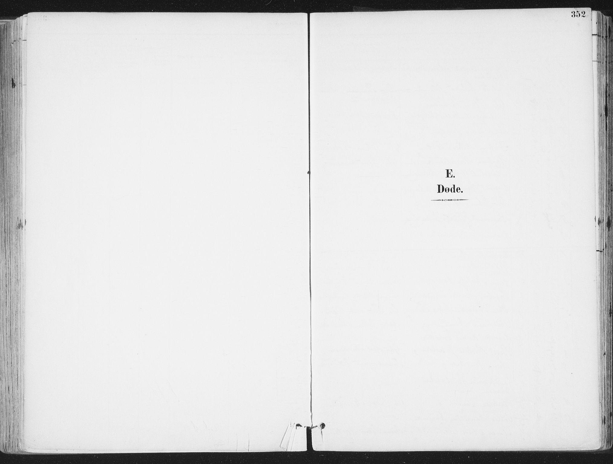 SAT, Ministerialprotokoller, klokkerbøker og fødselsregistre - Nordland, 802/L0055: Ministerialbok nr. 802A02, 1894-1915, s. 352