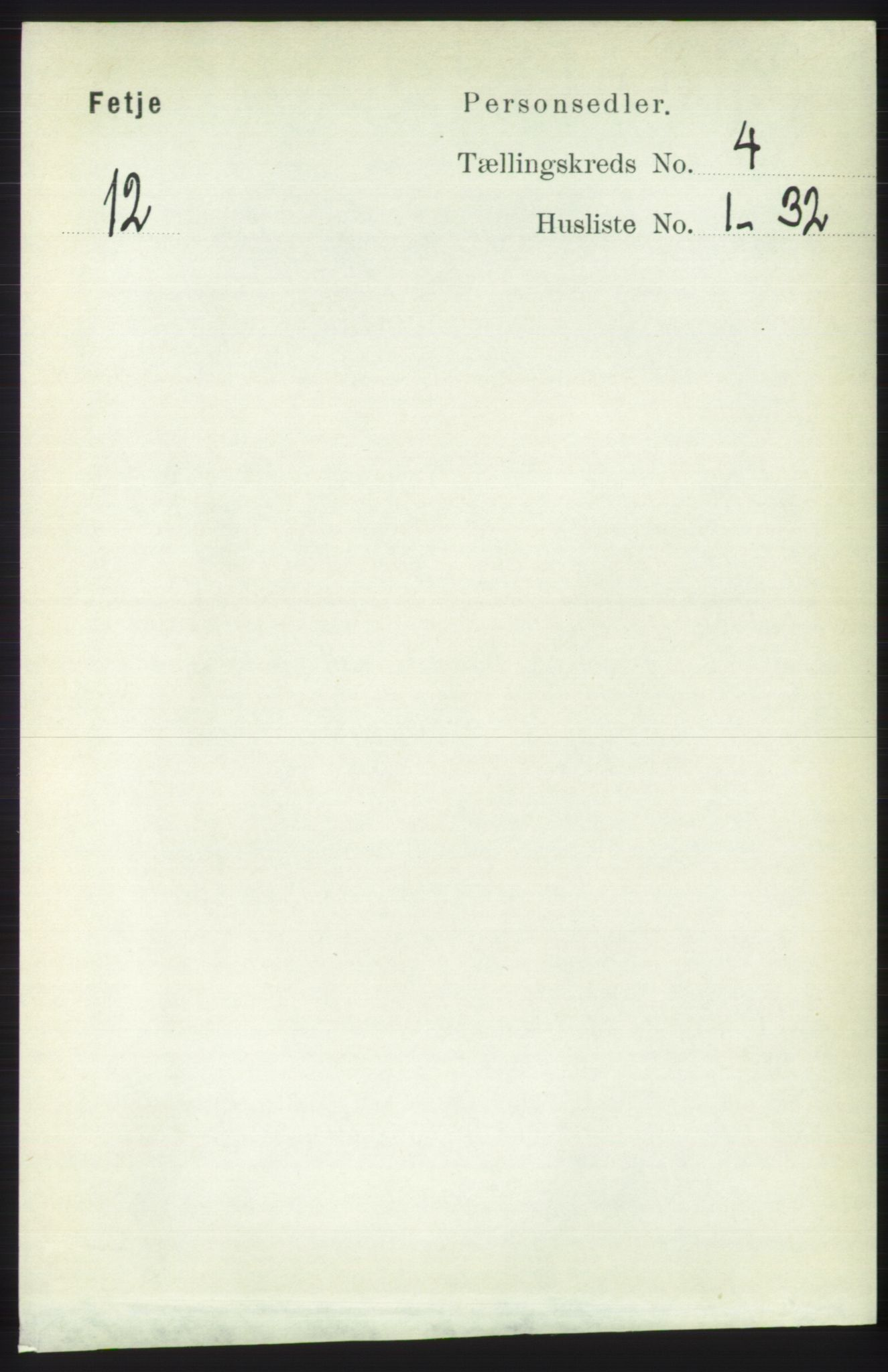 RA, Folketelling 1891 for 1222 Fitjar herred, 1891, s. 1353